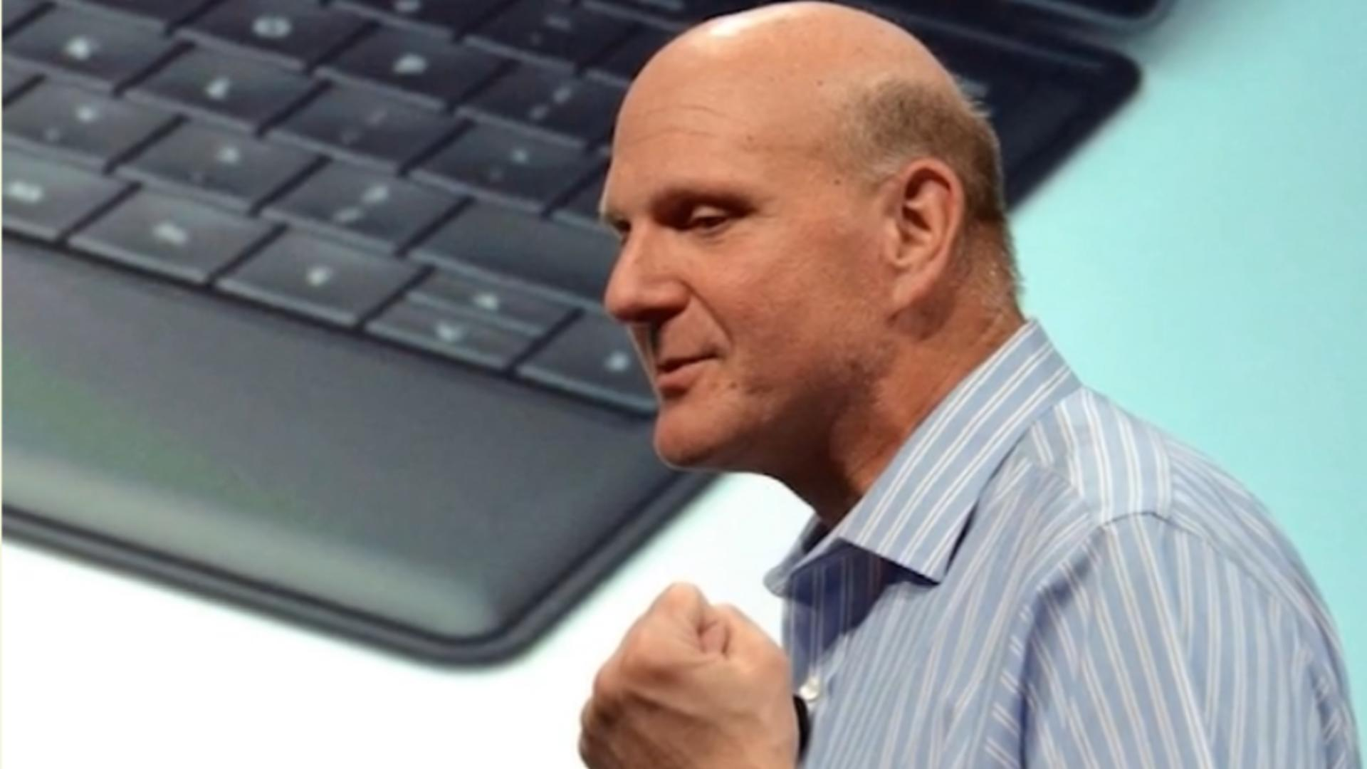Steve Ballmer, fost director general al Microsoft / Captură foto