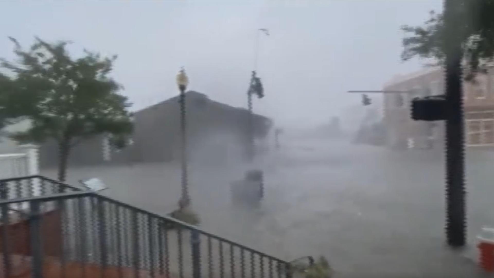 Uraganul Elsa, Florida /Captură foto