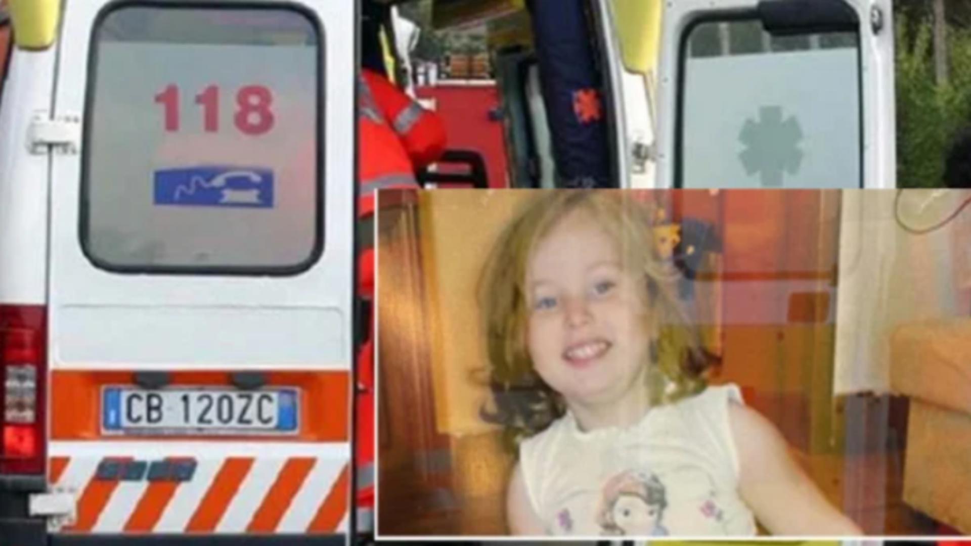 Copilă de doar 4 ani, moarte suspectă în Italia / Captură foto