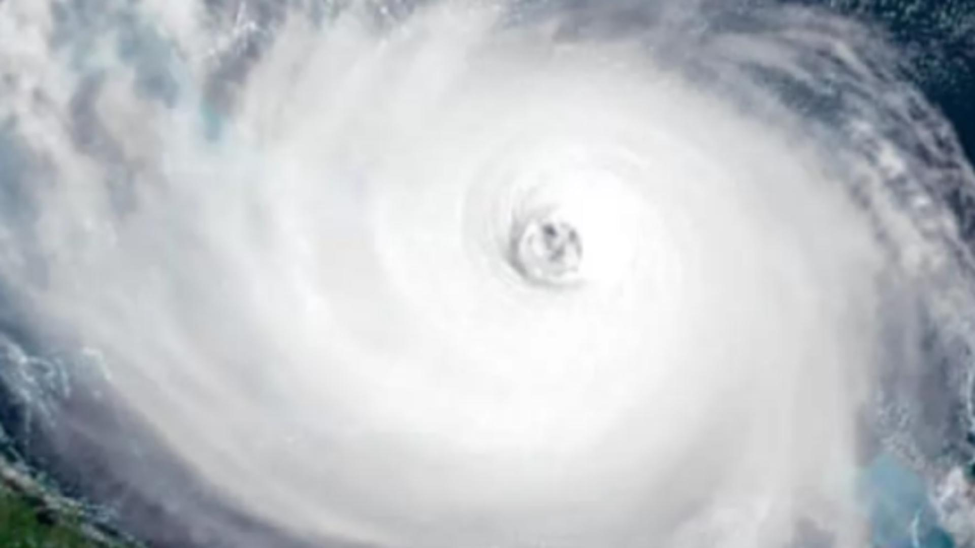 Urganul Elsa - imagine din satelit / Captură foto