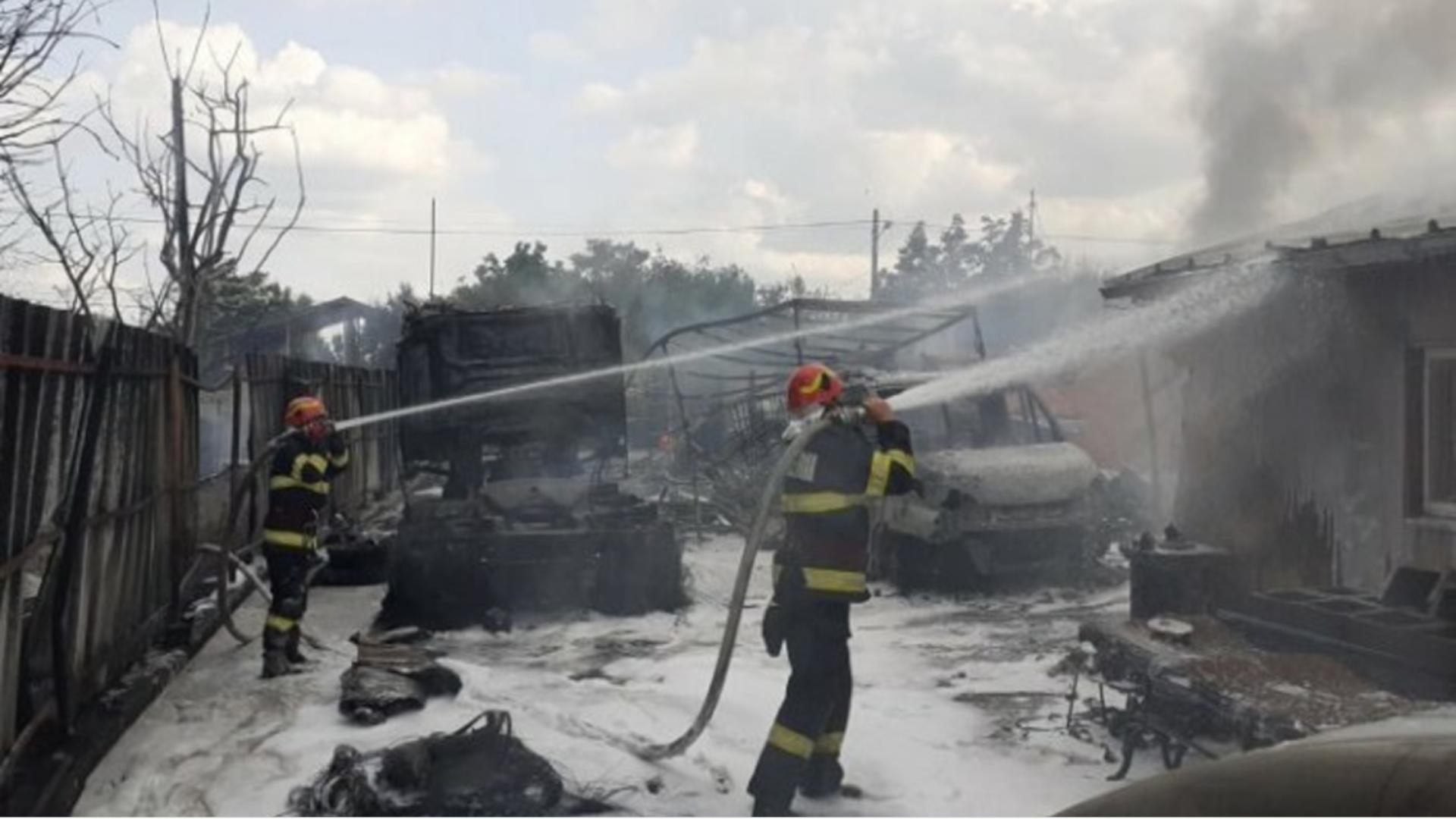 Incendiu Prahova