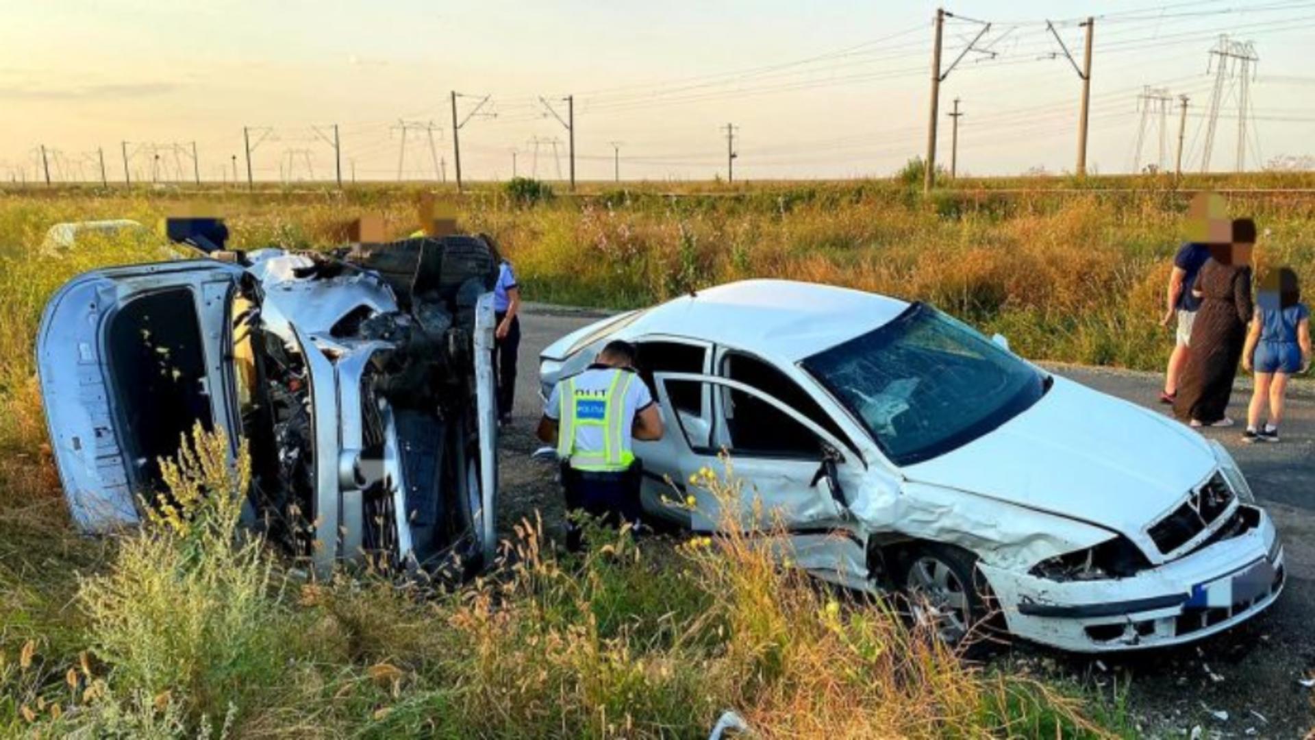Accident cu 6 victime, duminică seara