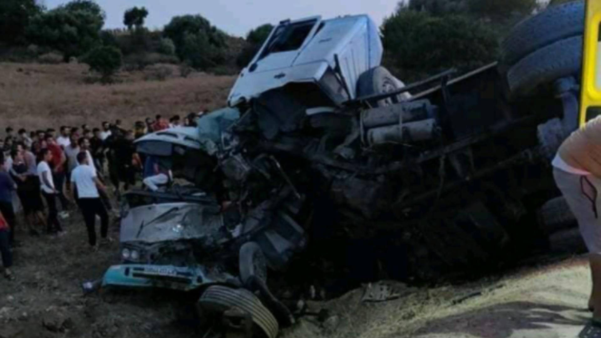 Accident Algeria. Foto: Twitter
