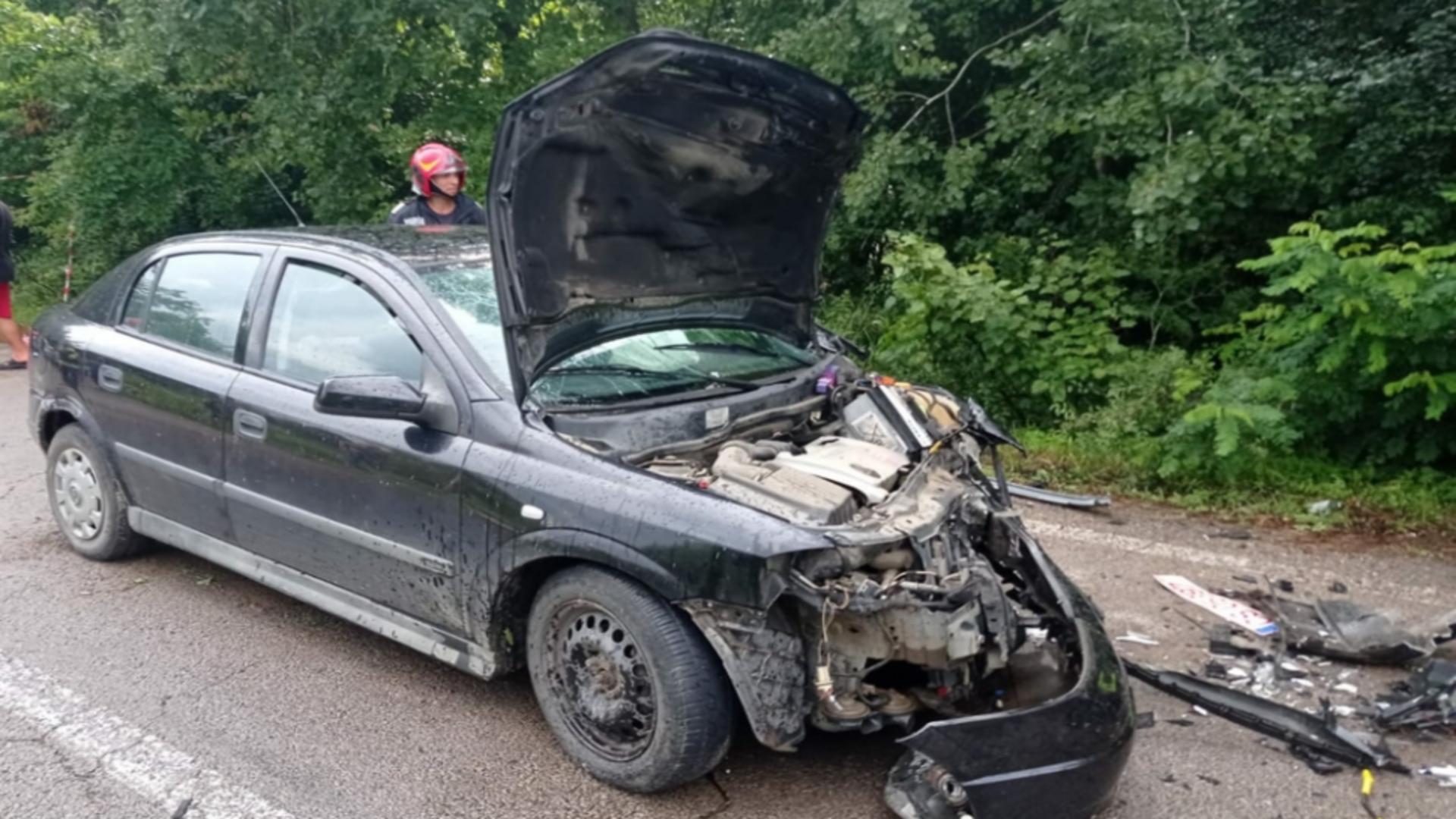 Accident mortal, pe o șosea din Caraș-Severin. Sursa foto: Realitatea de Caraș-Severin