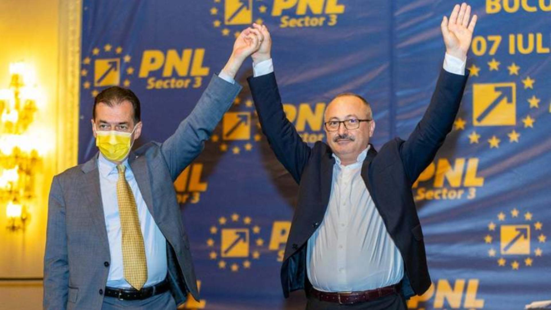Ludovic Orban și Antonel Tănase