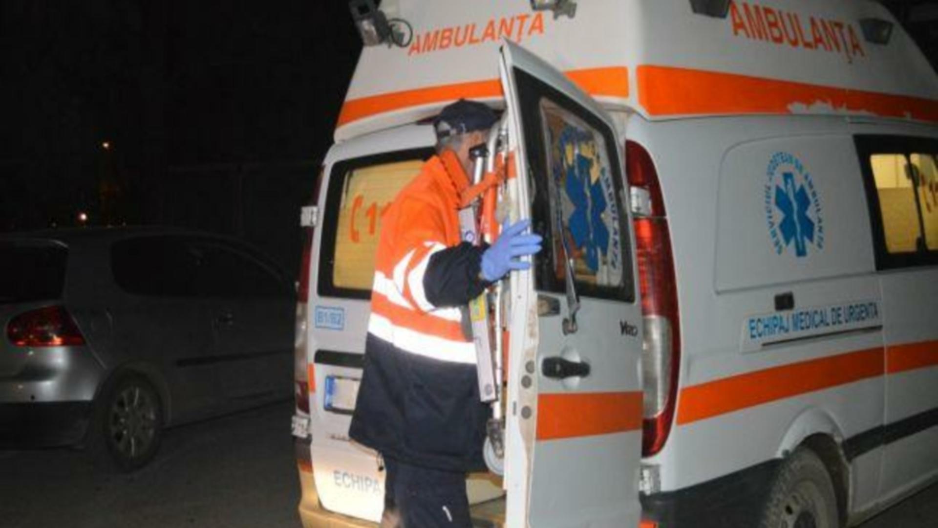 Accident cumplit, în Buzău. Foto: Realitatea de Buzău