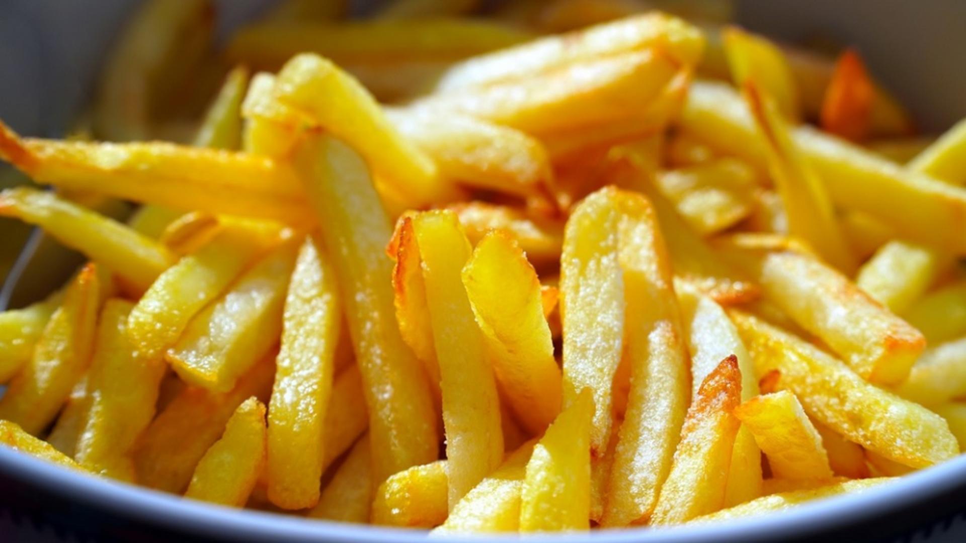 Cartofii prăjiți, bombă cu ceas pentru sănătate