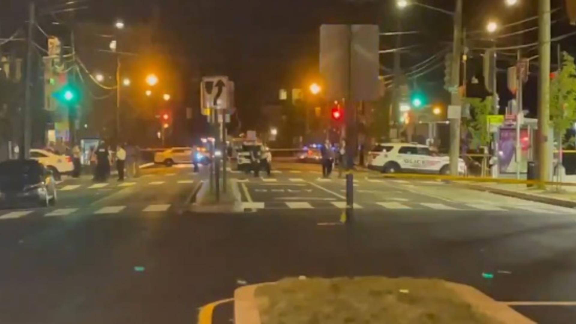 Atac armat Washington (captură video)