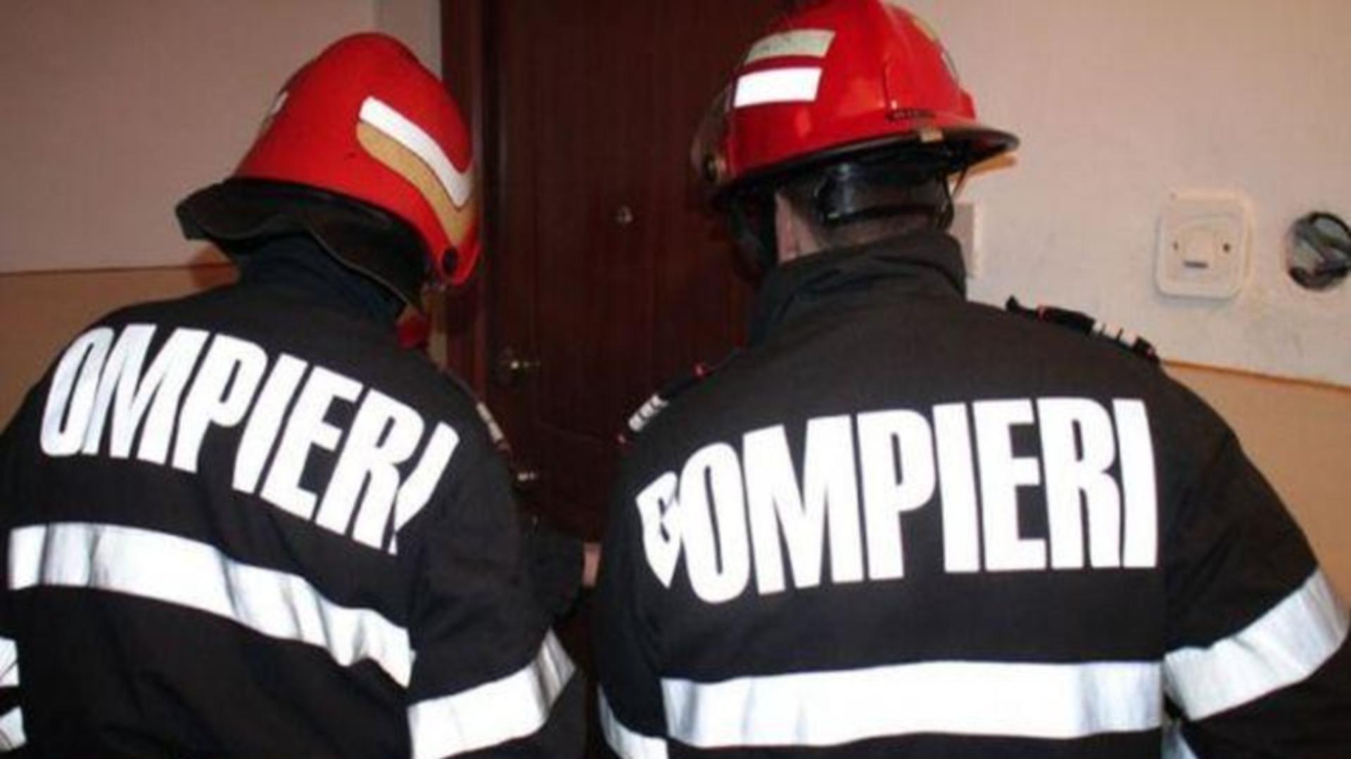 Intervenție pompieri Roman