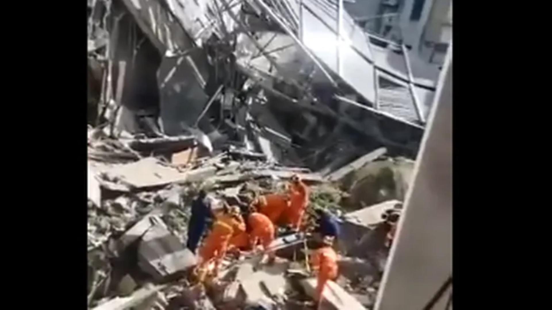 Dezastru în China