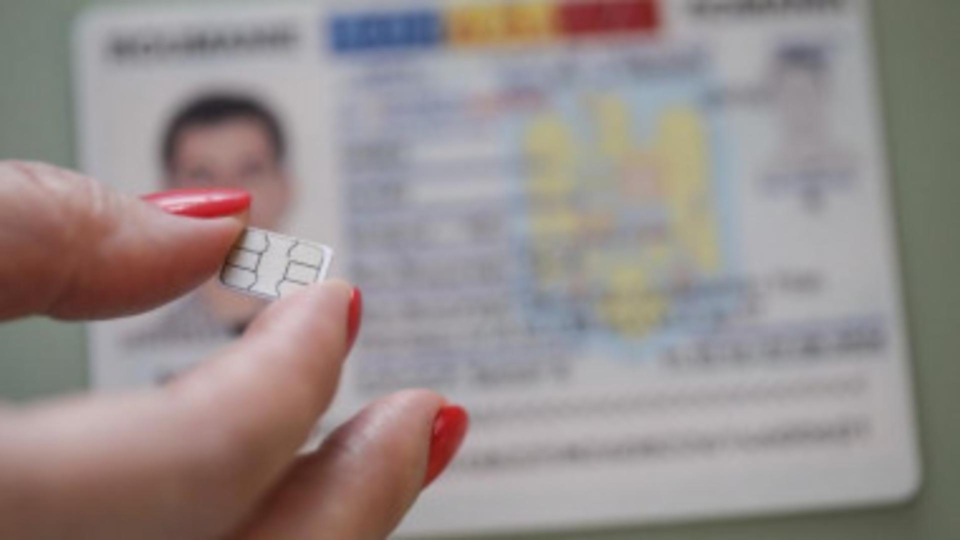 Românii vor avea buletine biometrice, din 2 august