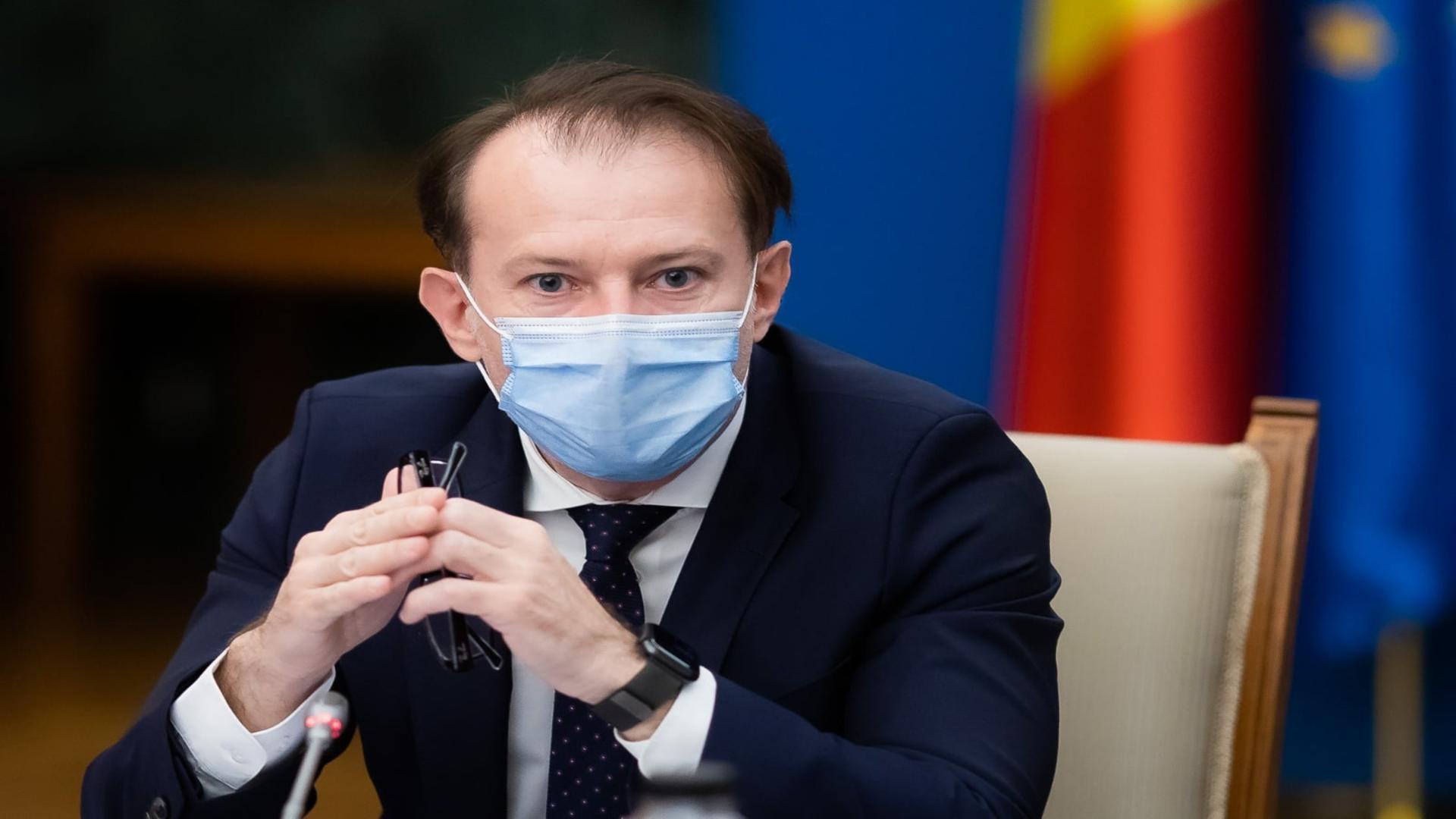 Florin Cîțu, prim-ministrul României / Foto: Facebook Florin Cîțu