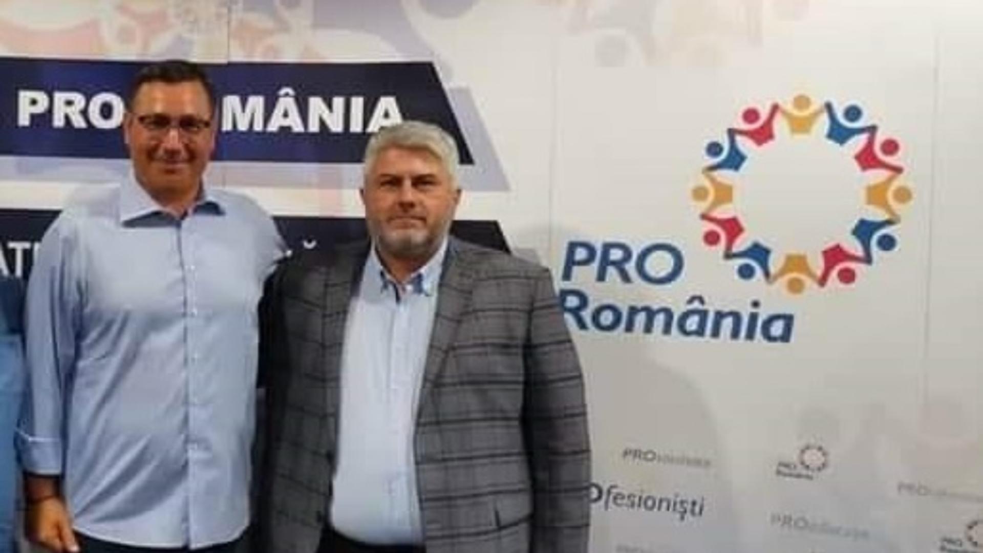 Cosmin Tenu și Victor Ponta
