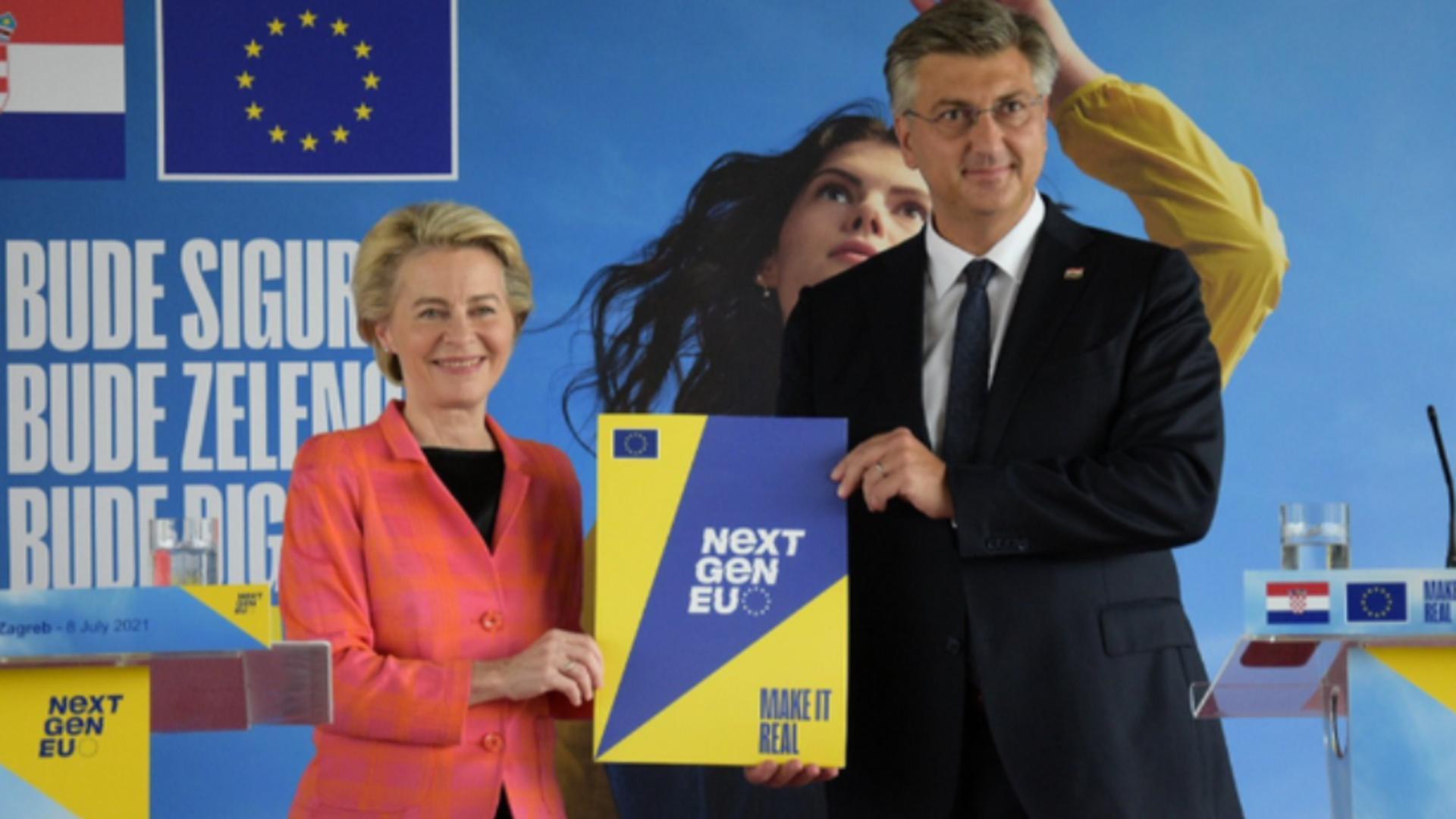 Croația, victorie la Bruxelles: PNRR a primit undă verde - CÂND primește banii de la UE
