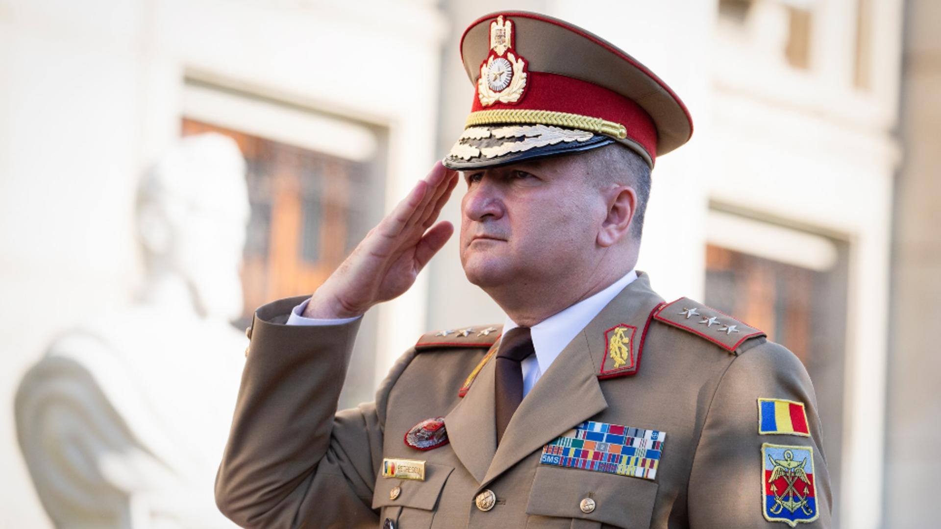 Șeful Statului Major al Apărării, vizită importantă în SUA - Ce întâlniri la nivel înalt are Daniel Petrescu