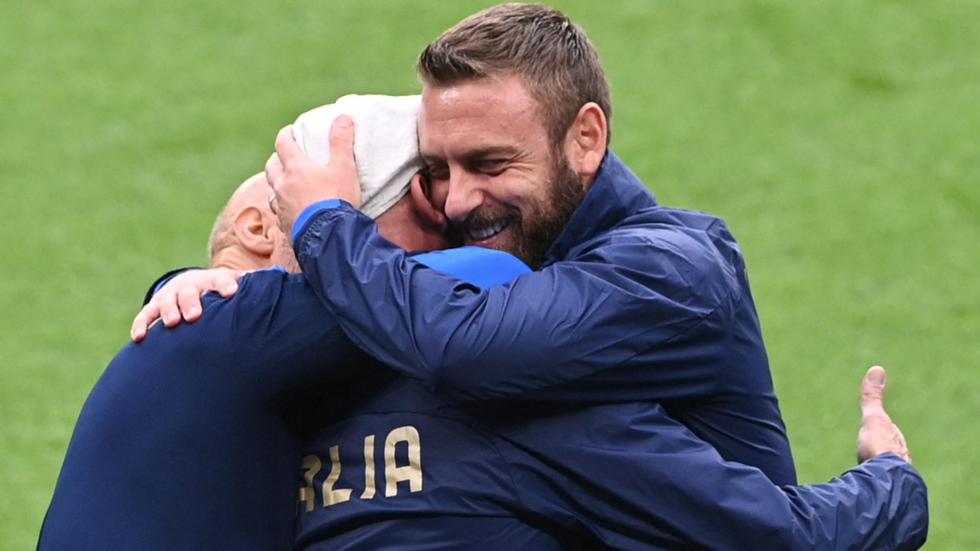 Bucurie italiană după cucerirea trofeului Euro 2020
