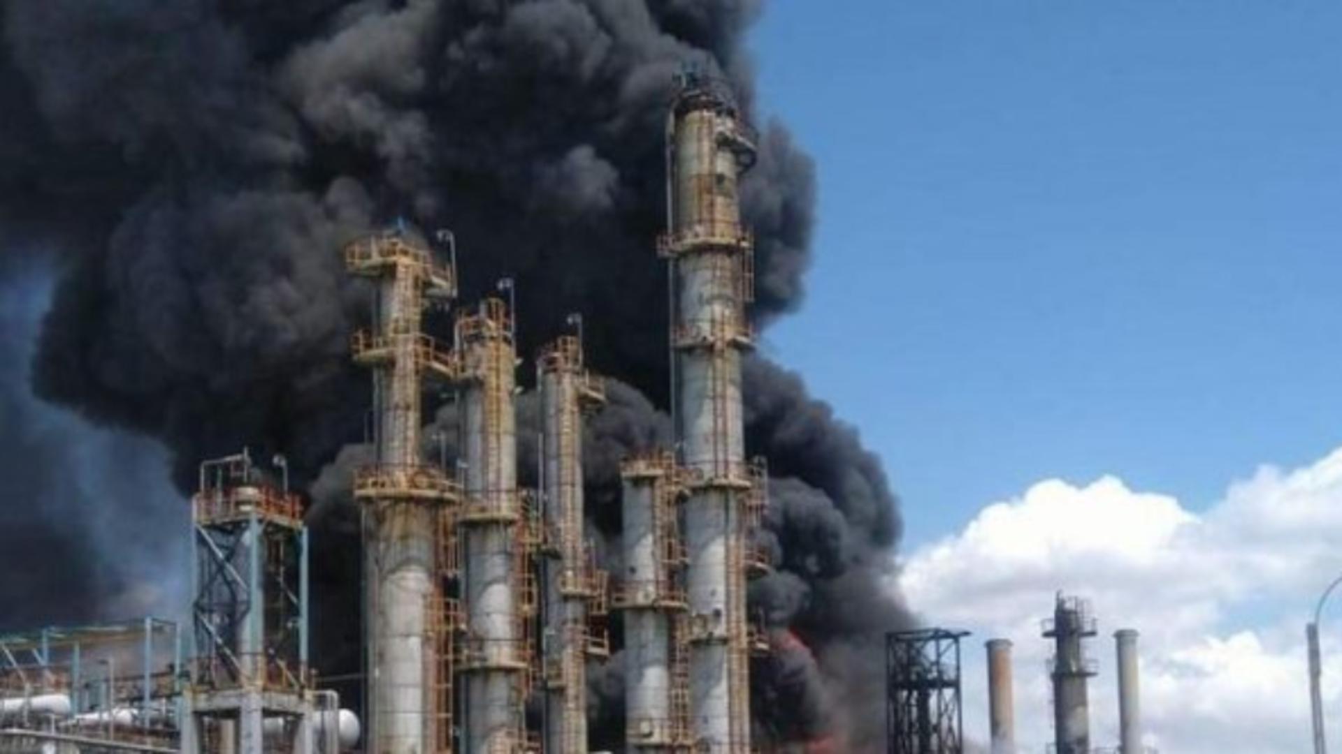 Ministerul Sănătății, ANUNȚ despre starea VICTIMELOR în urma celor 3 explozii de la Rafinăria Petromidia