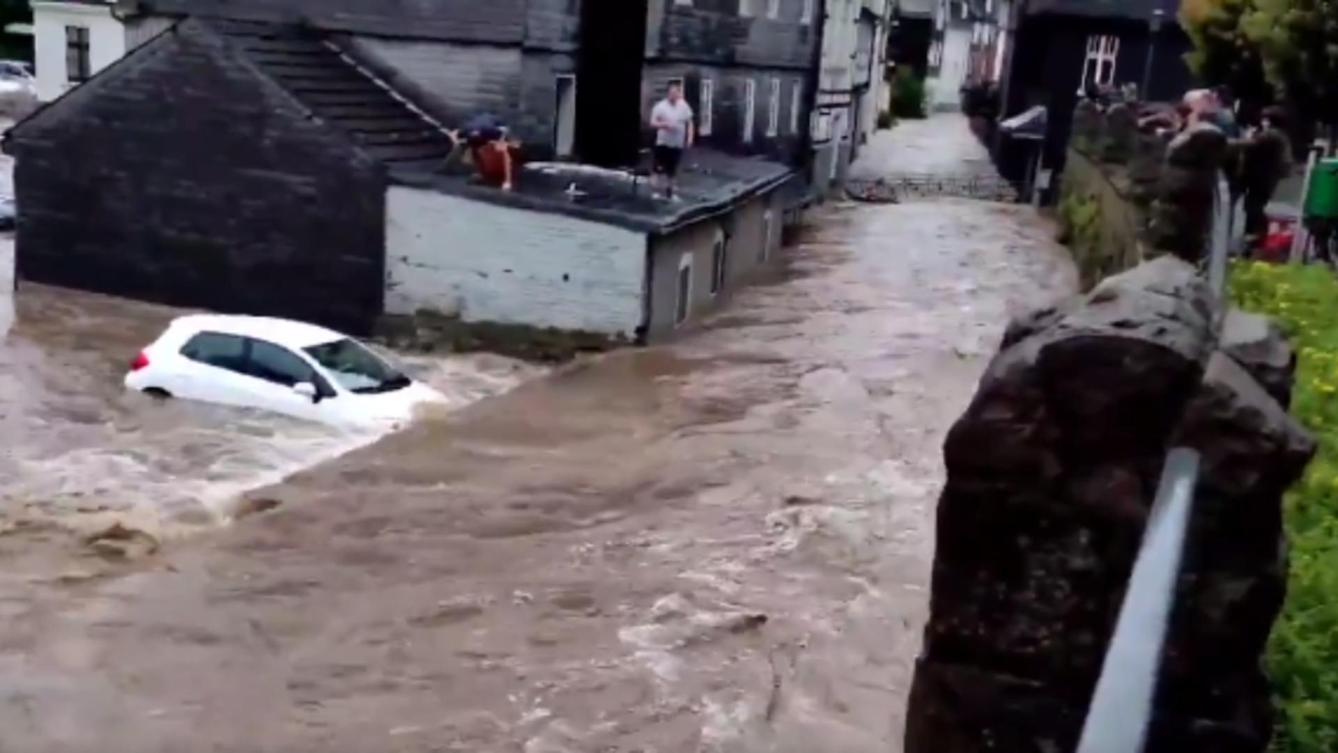 Inundații Germania. Foto: captură Twitter