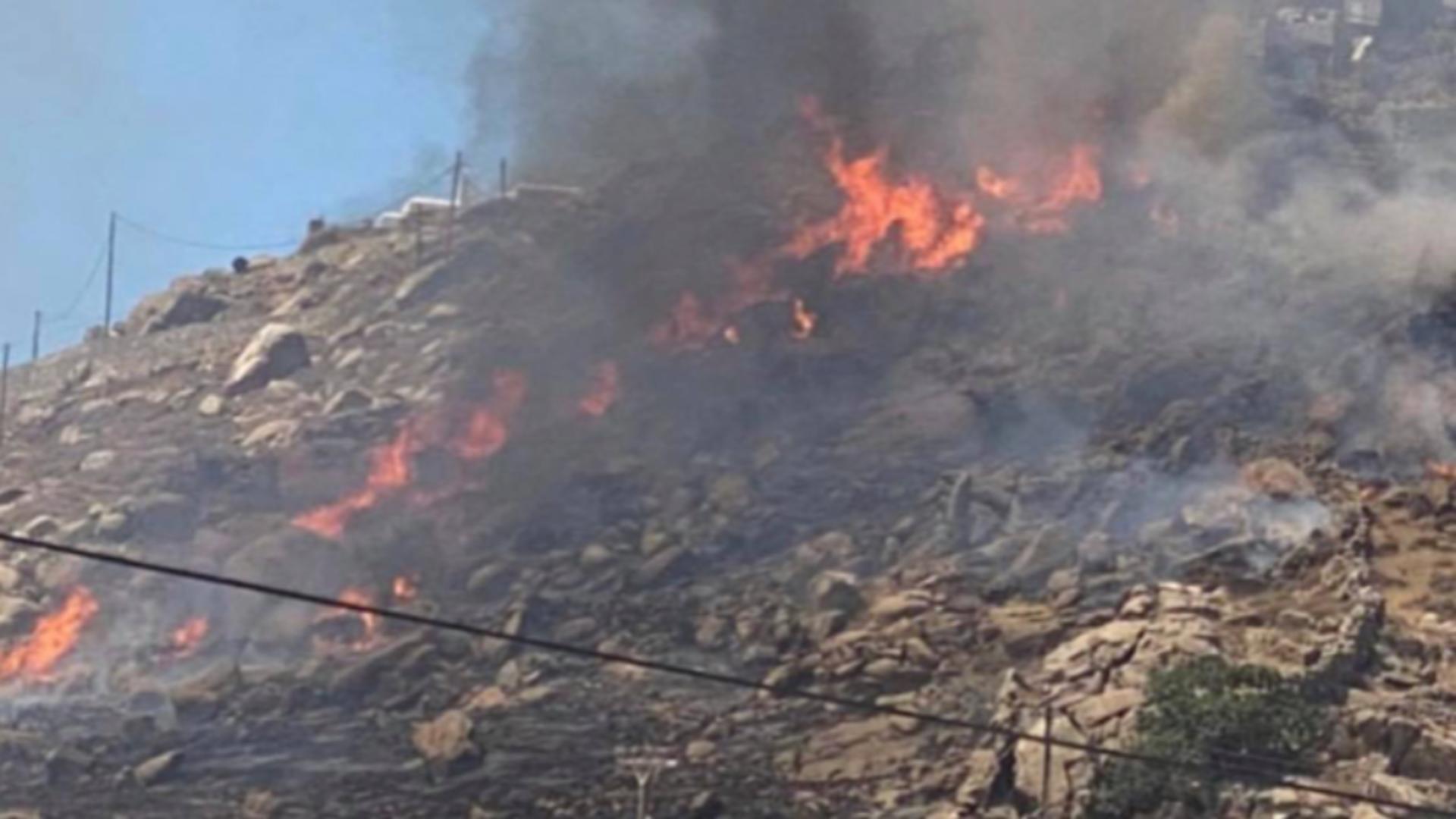 Caniculă și risc de incendii în Grecia. Foto/arhivă