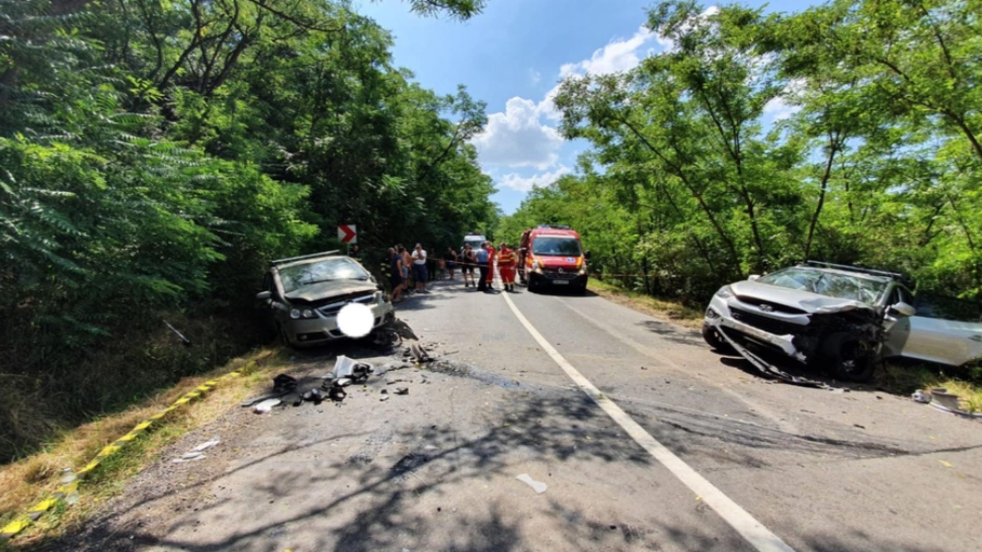 Accident pe Dealul Săbedului