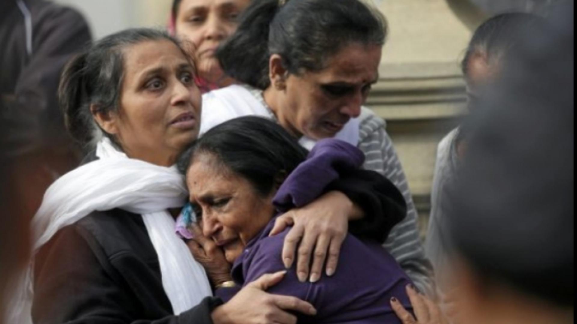 Incident șocant la o înmormântare din India