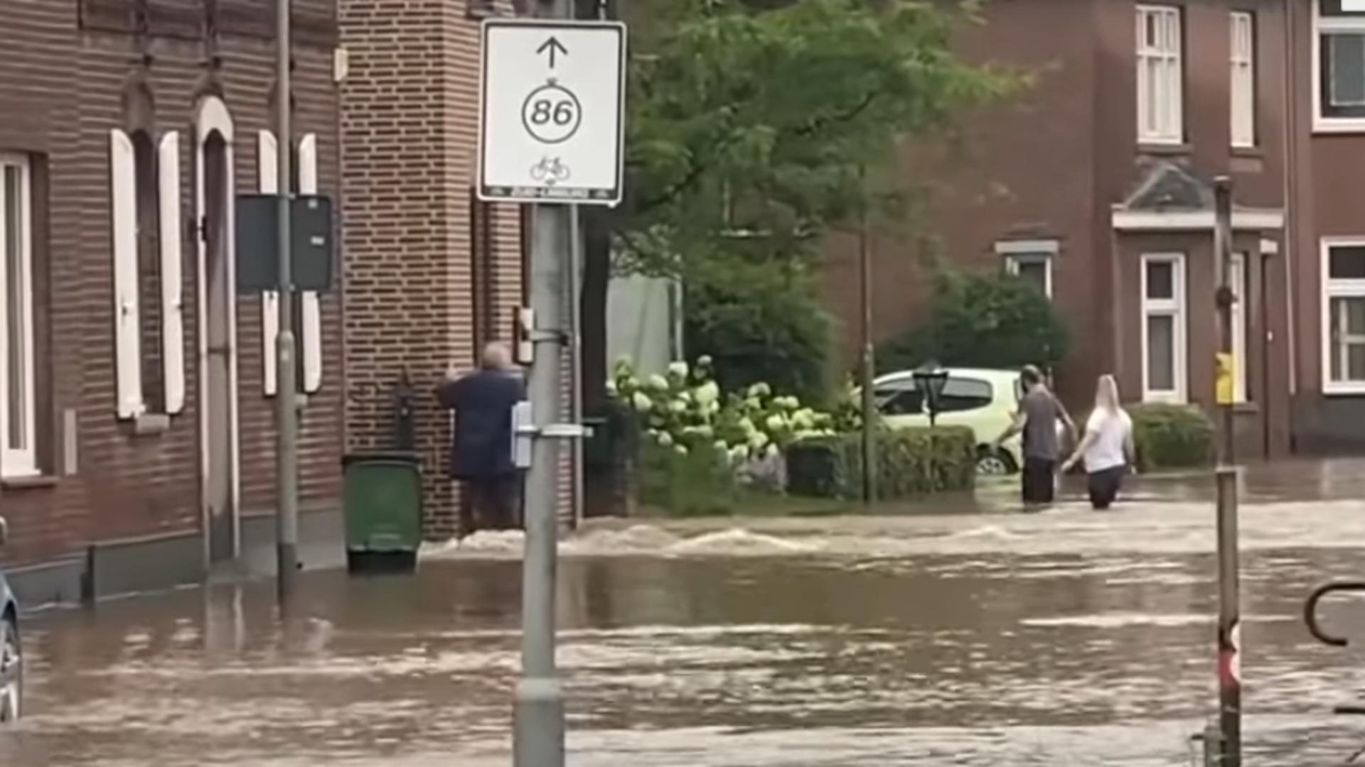 Inundații Europa. Foto: captură YouTube