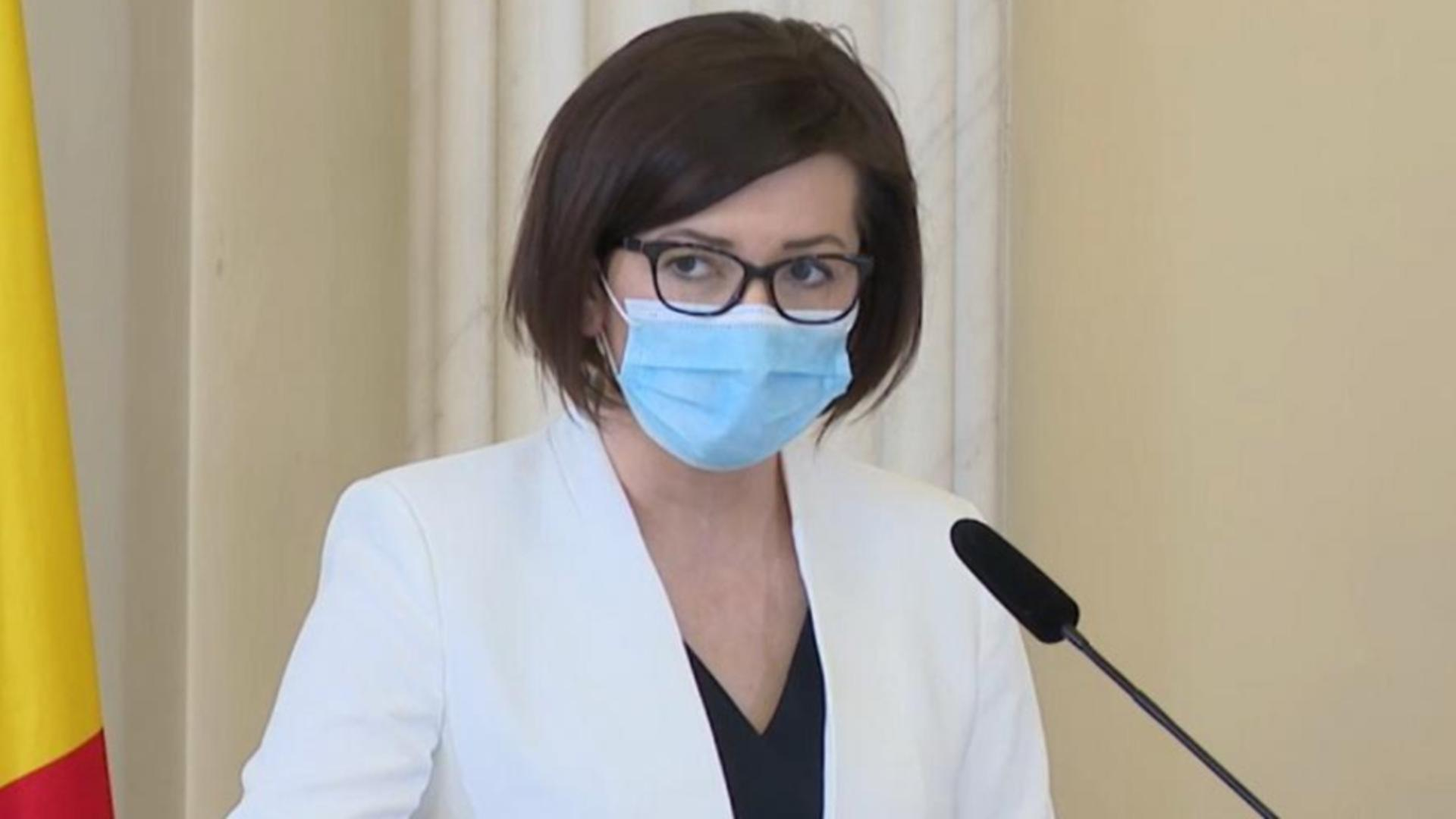 Ministrul Sănătății, Ioana Mihăilă