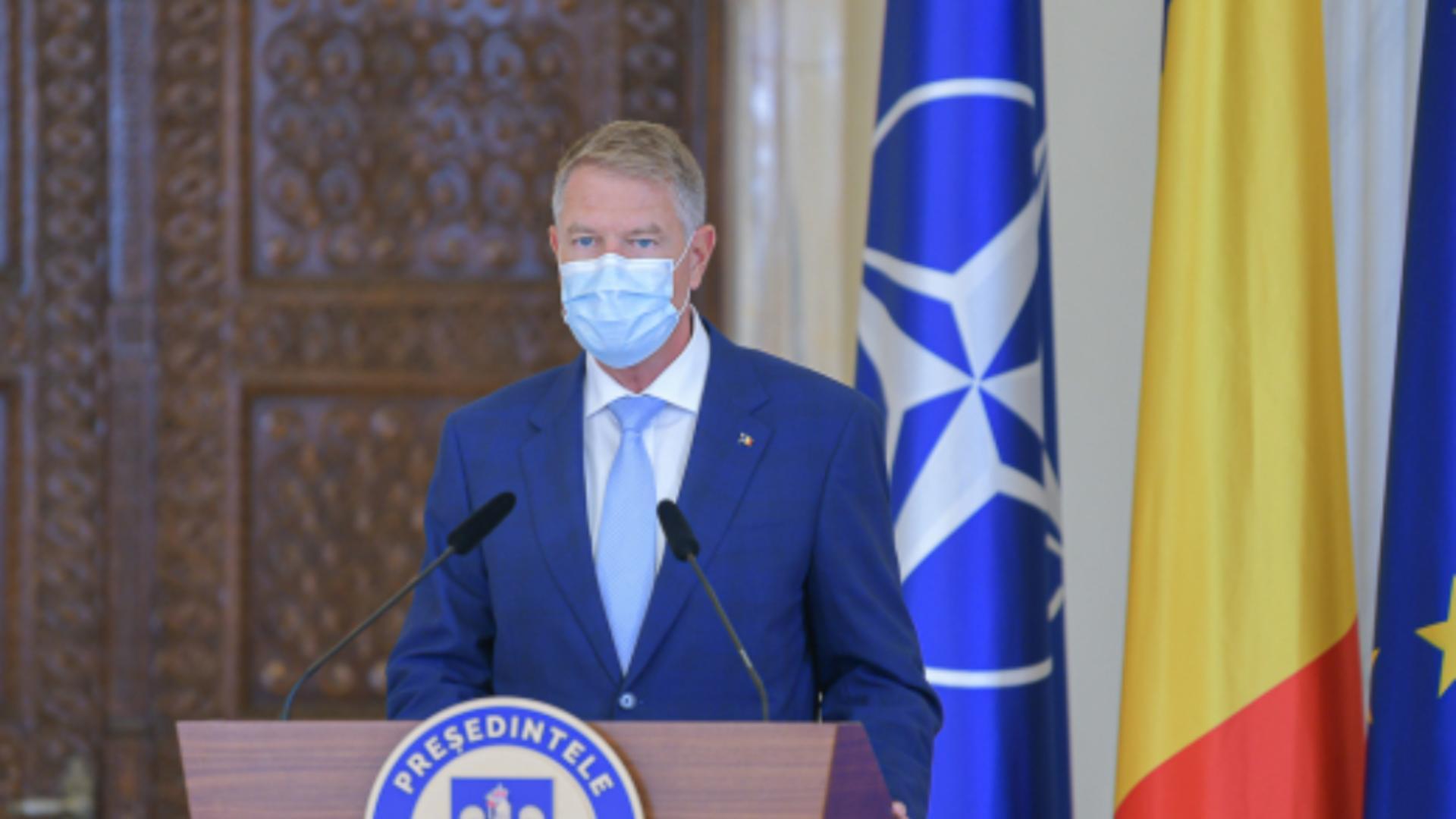 Președintele Iohannis, în cărți pentru șefia Alianței Nord Atlantice. Foto/președinția României