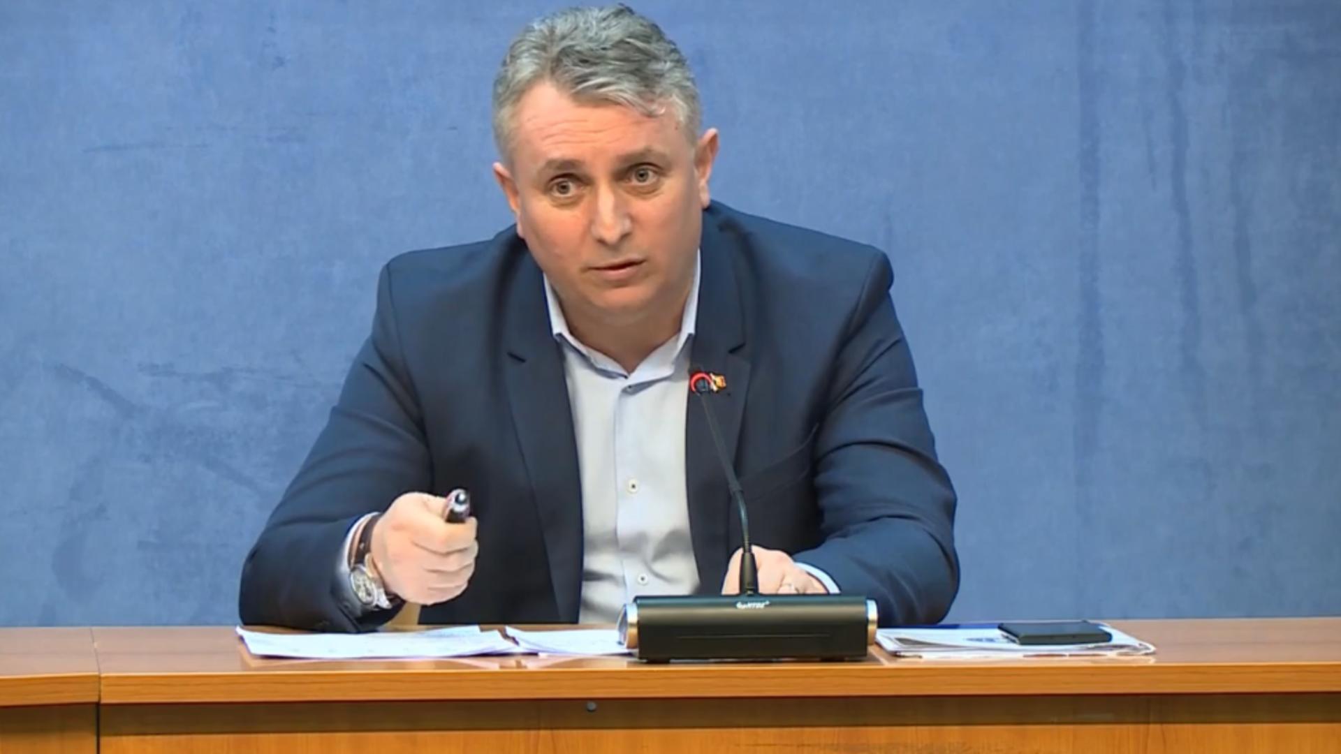 Prima DECIZIE a lui Lucian Bode ca ministru interimar la Justiție