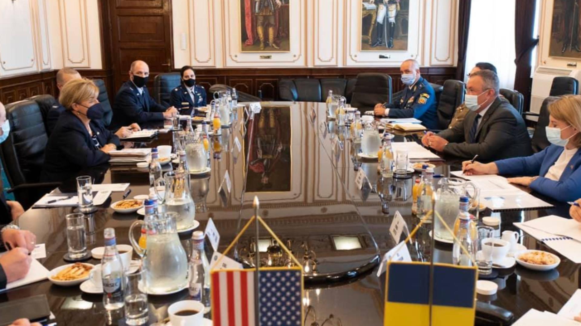 """România a primit statutul """"Dependable Undertaking"""" din partea SUA Foto: MApN"""