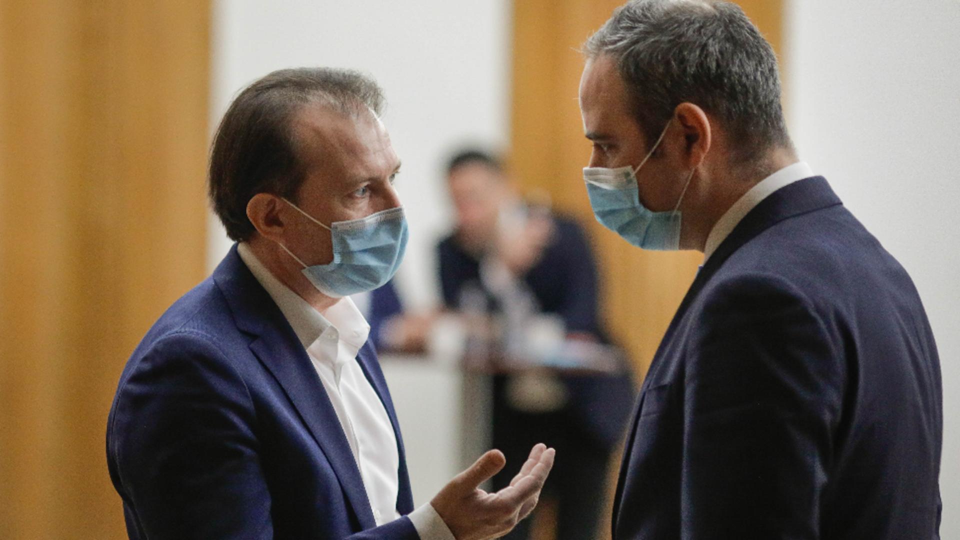 Premierul Florin Cîțu l-a remaniat pe ministrul Finanțelor, Alexandru Nazare. Foto/Inquam