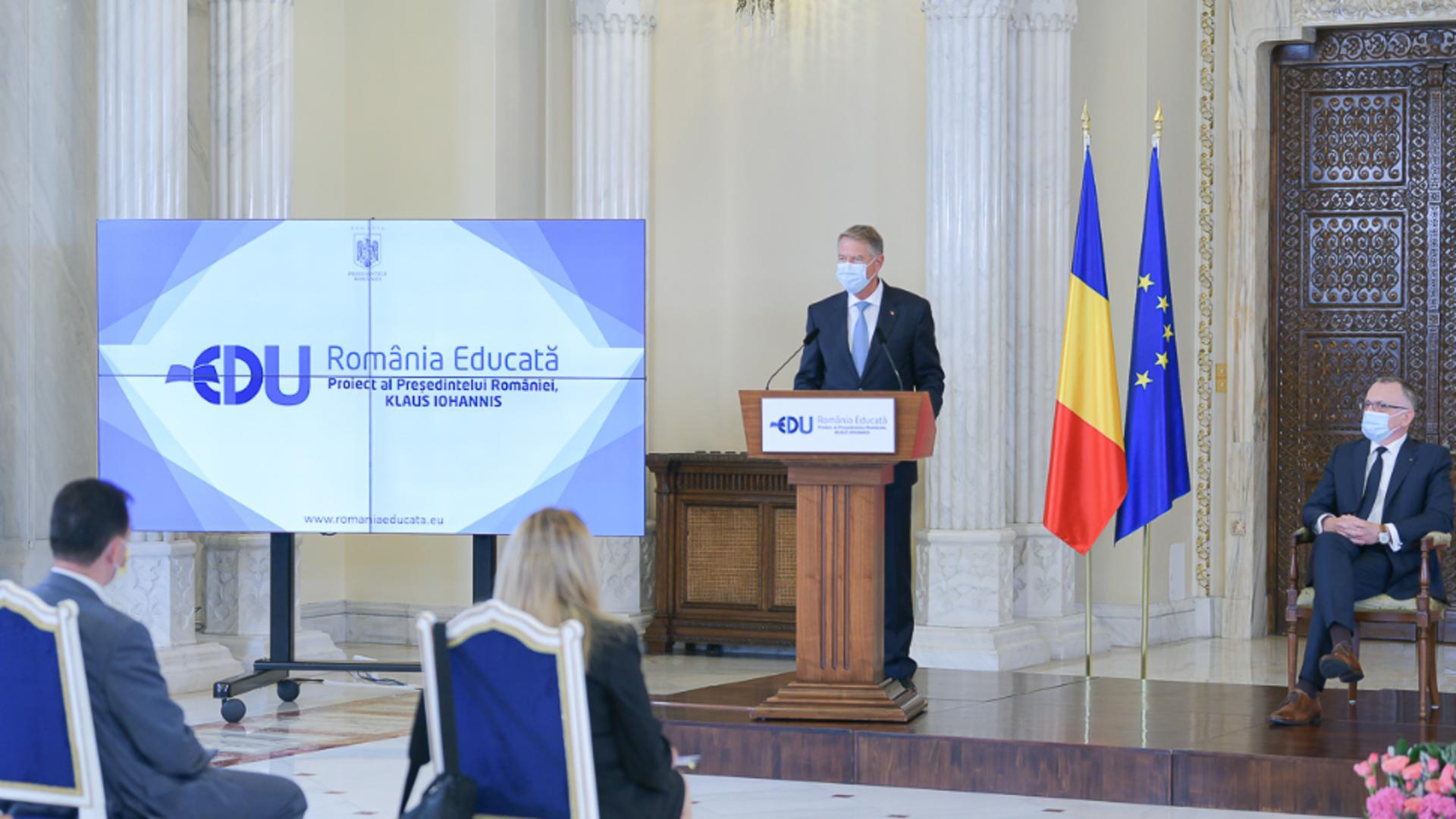 Nouă rundă de consultări cu Iohannis pentru România Educată, cu Ludovic Orban, Anca Dragu și comisiile de învățământ