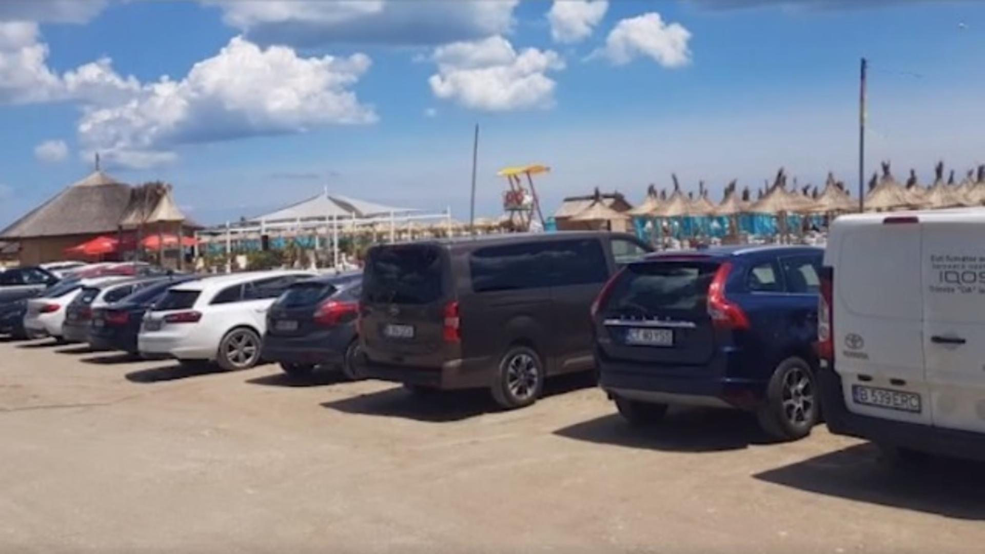 Parcarea la Mamaia costă cât la Monte Carlo