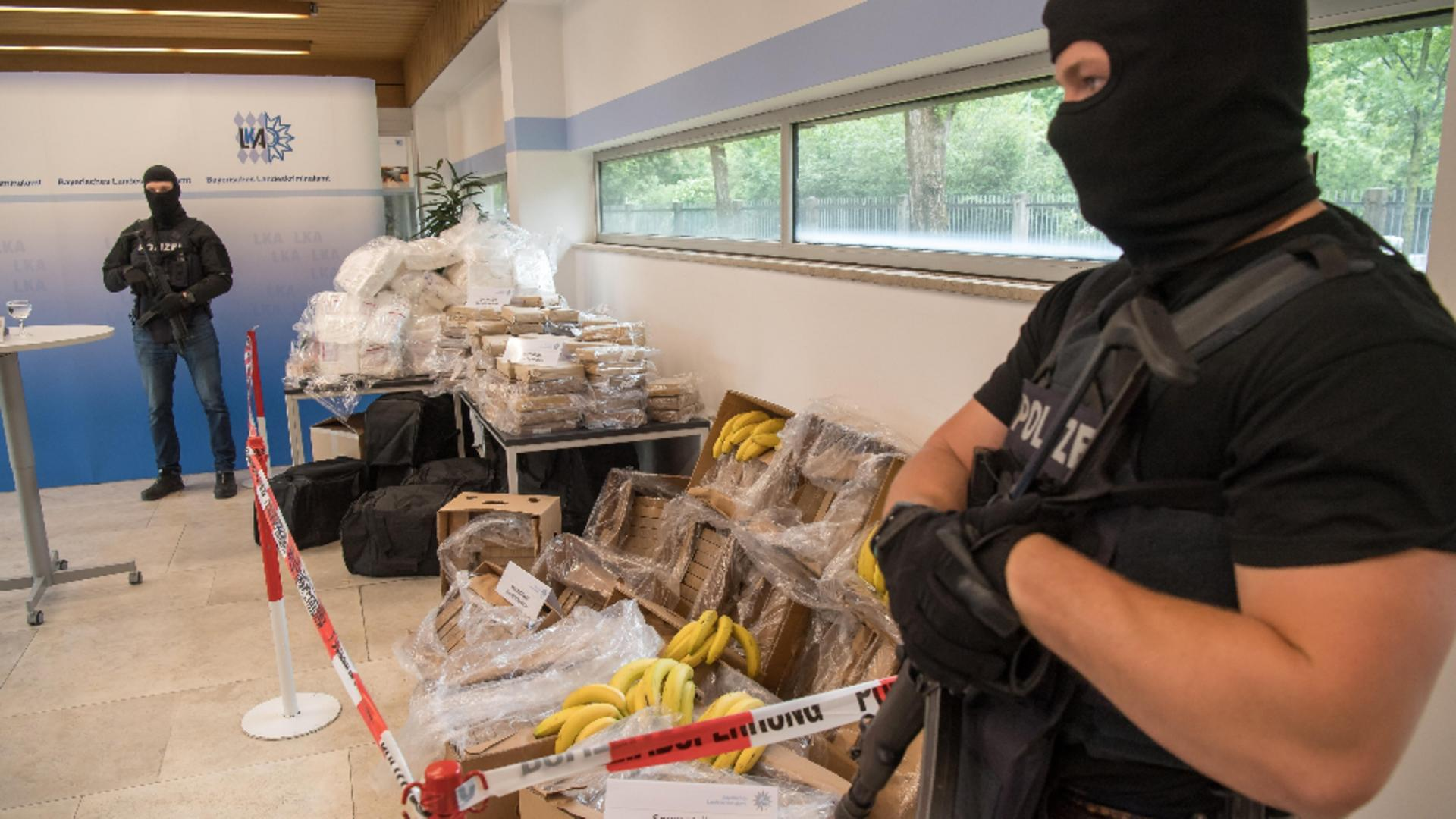 Cocaină descoperită în cutii de banane  / Foto: Profi Media, imagine de arhivă