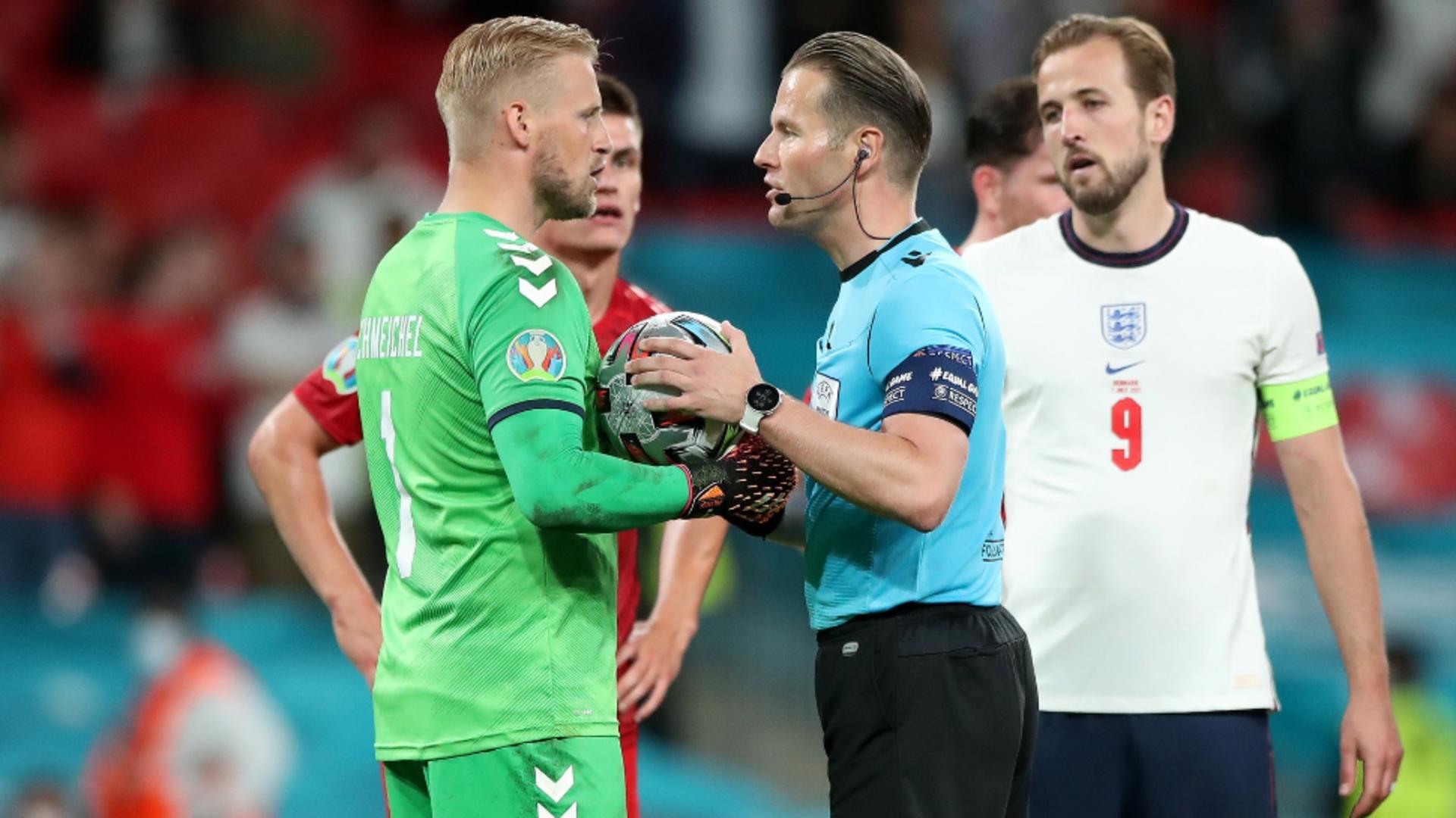 Anglia - Danemarca, Euro 2020