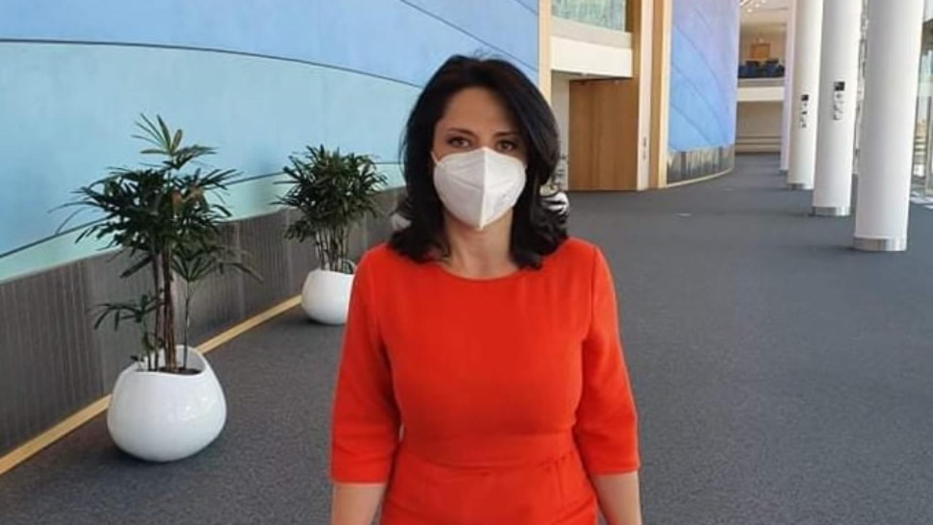 Ramona Strugariu, europarlamentar USR Plus