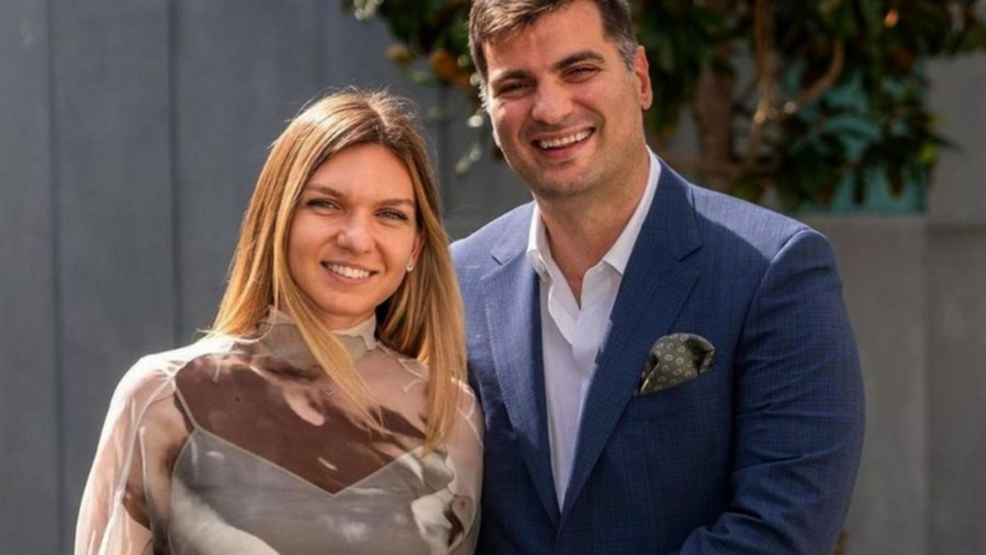 Simona Halep s-a căsătorit