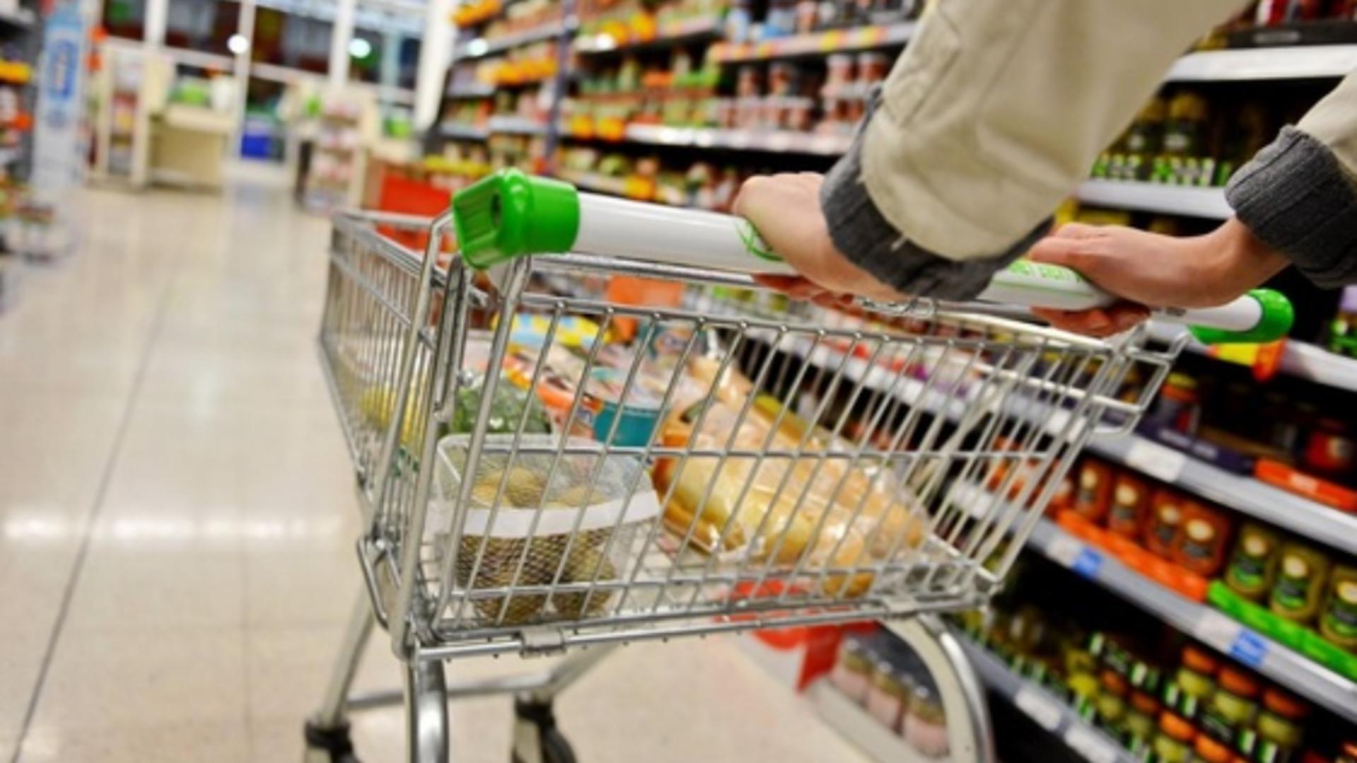 Produs retras de la raft, într-un supermarket din România