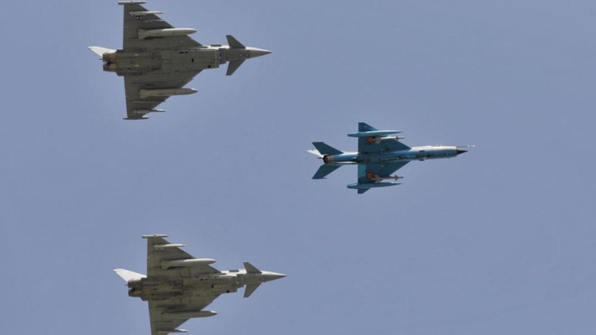 Șeful Luftwaffe, la manșa unui avion de luptă, din Germania până în România