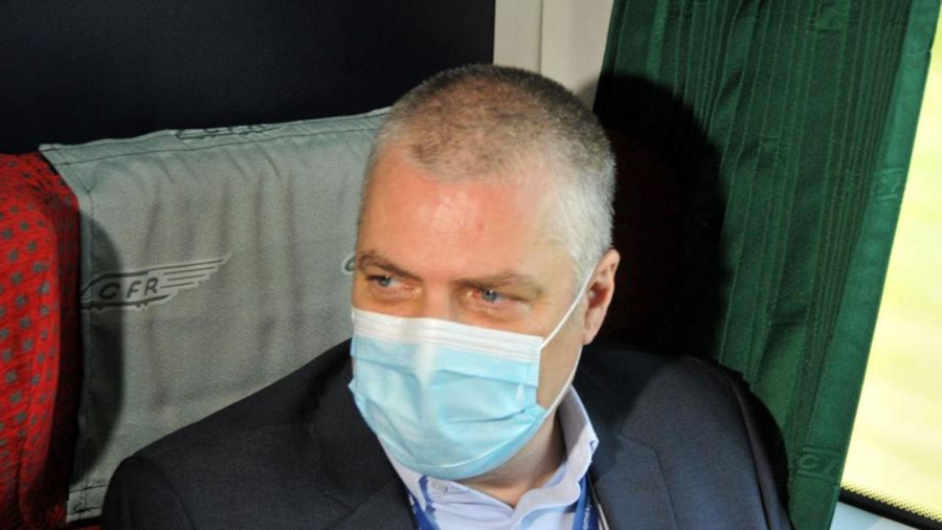 Ovidiu Vizante, directorul CFR