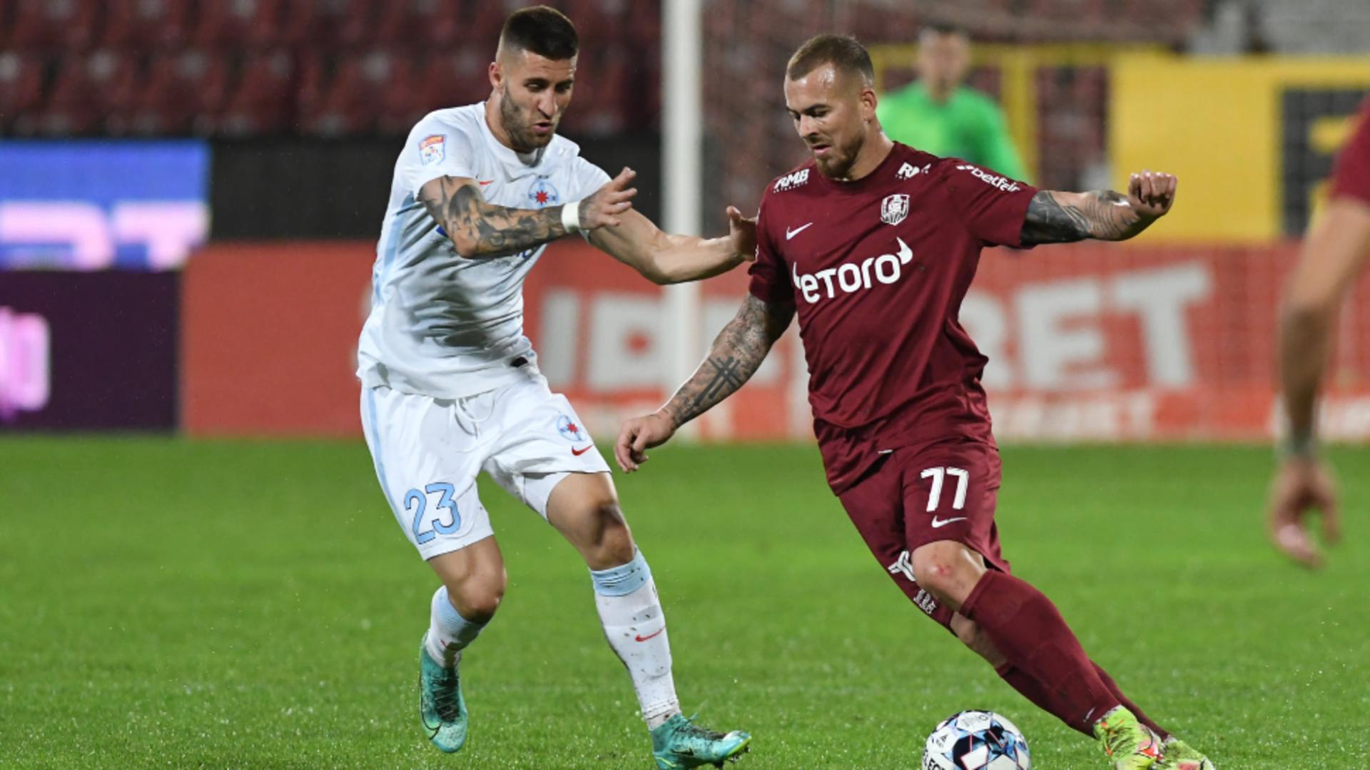 Denis Alibec, CFR Cluj - FCSB