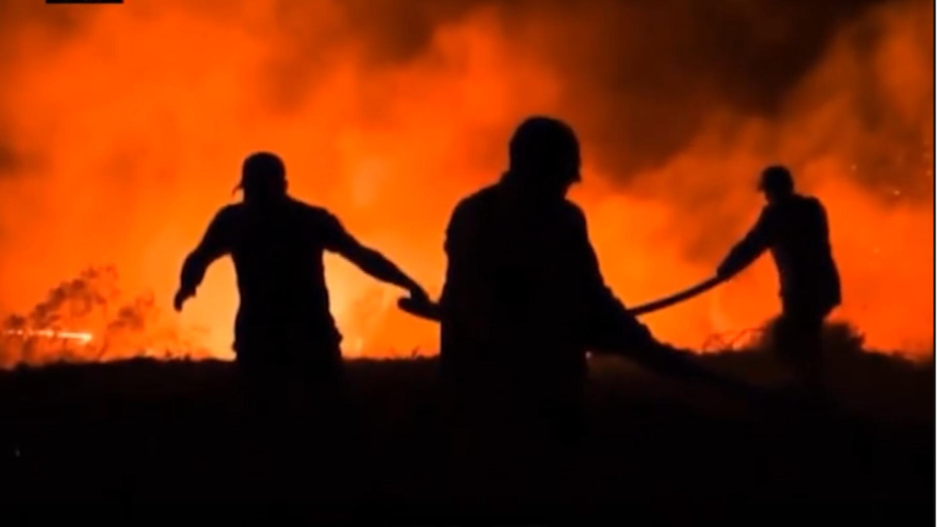 Incendii dezastroase în destinații turistice preferate ale românilor