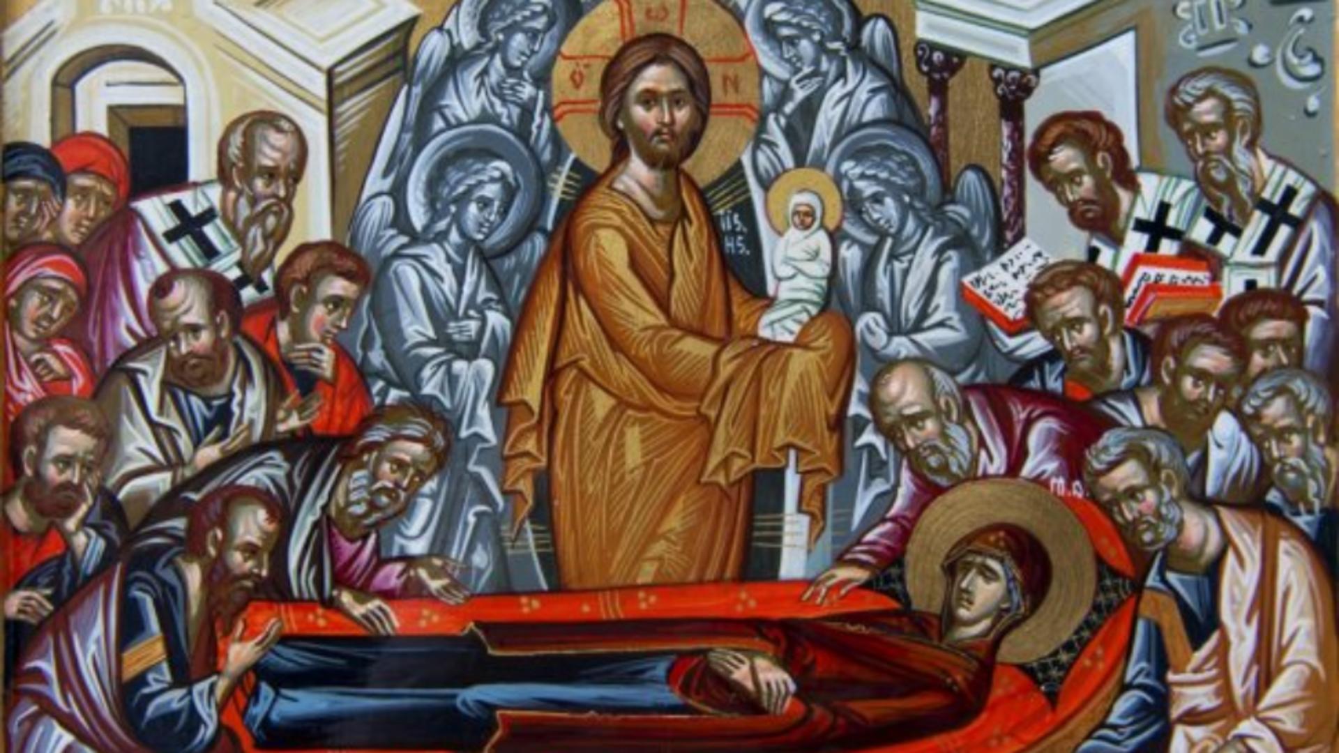 Adormirea Maicii Domnului. Semnificațiile zilei de 15 august - Sfânta Maria