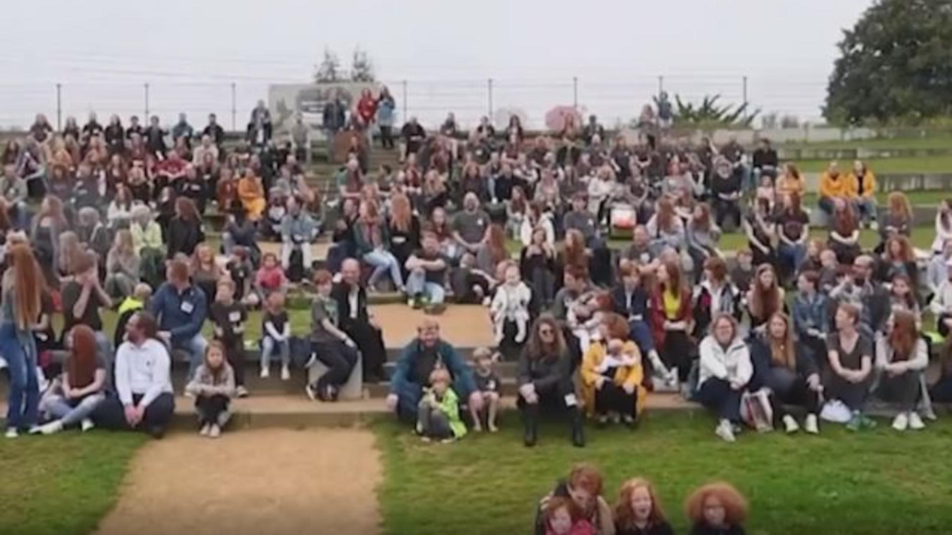 Festivalul roșcaților din Olanda
