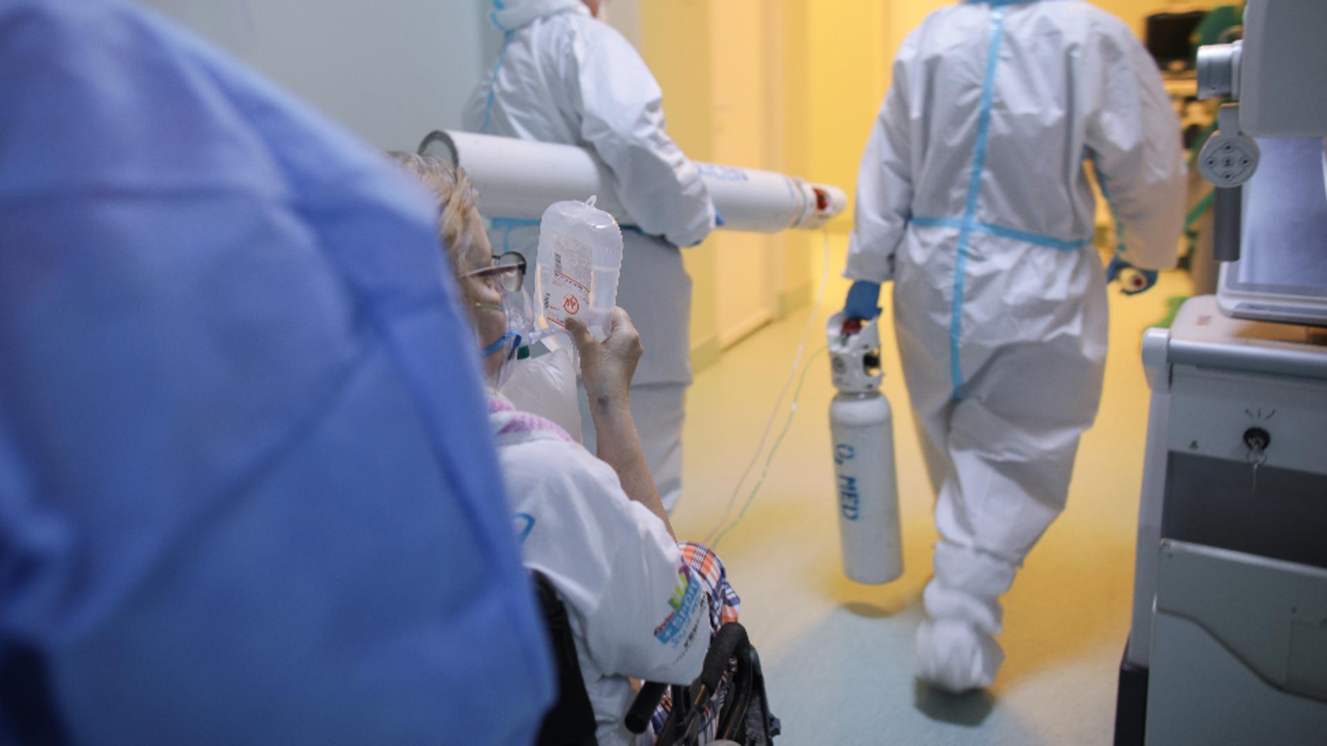 4 angajați și 7 pacienți, depistați pozitiv la Spitalul Județean Piatra Neamț. Foto/Inquam