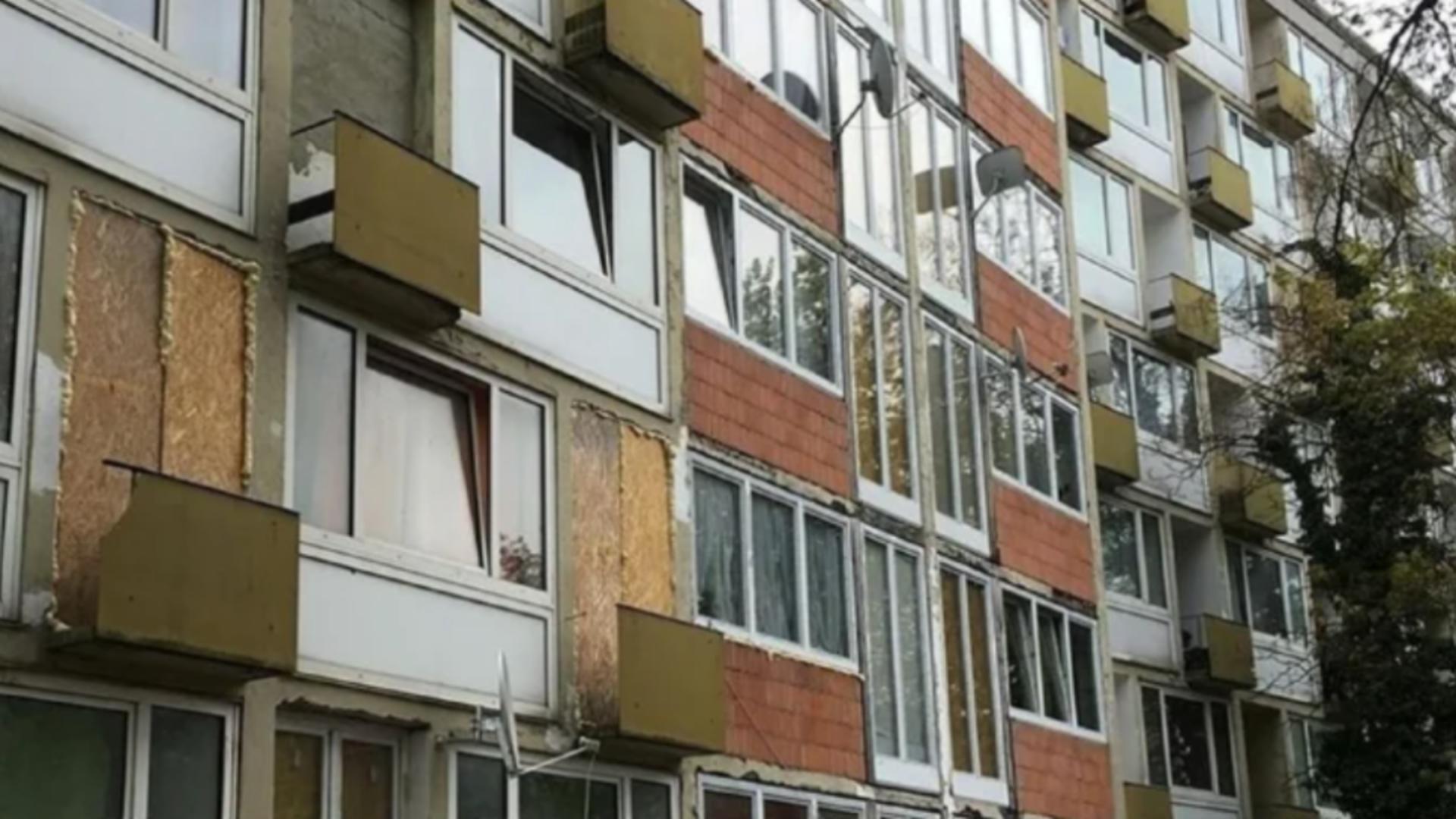 Români evacuați dintr-un bloc din Germania / Captură foto: br.de