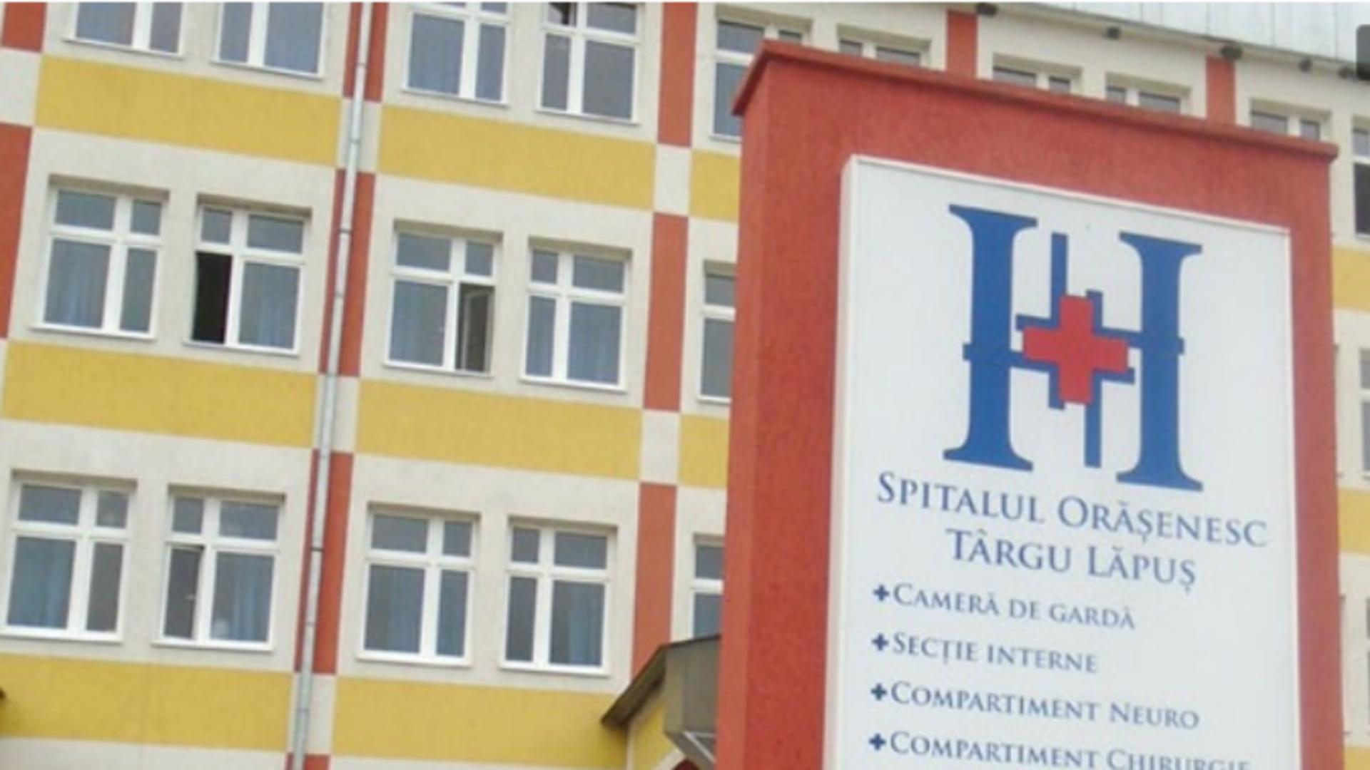 Spitalul orășenesc Tărgu Lăpuș / Captură foto