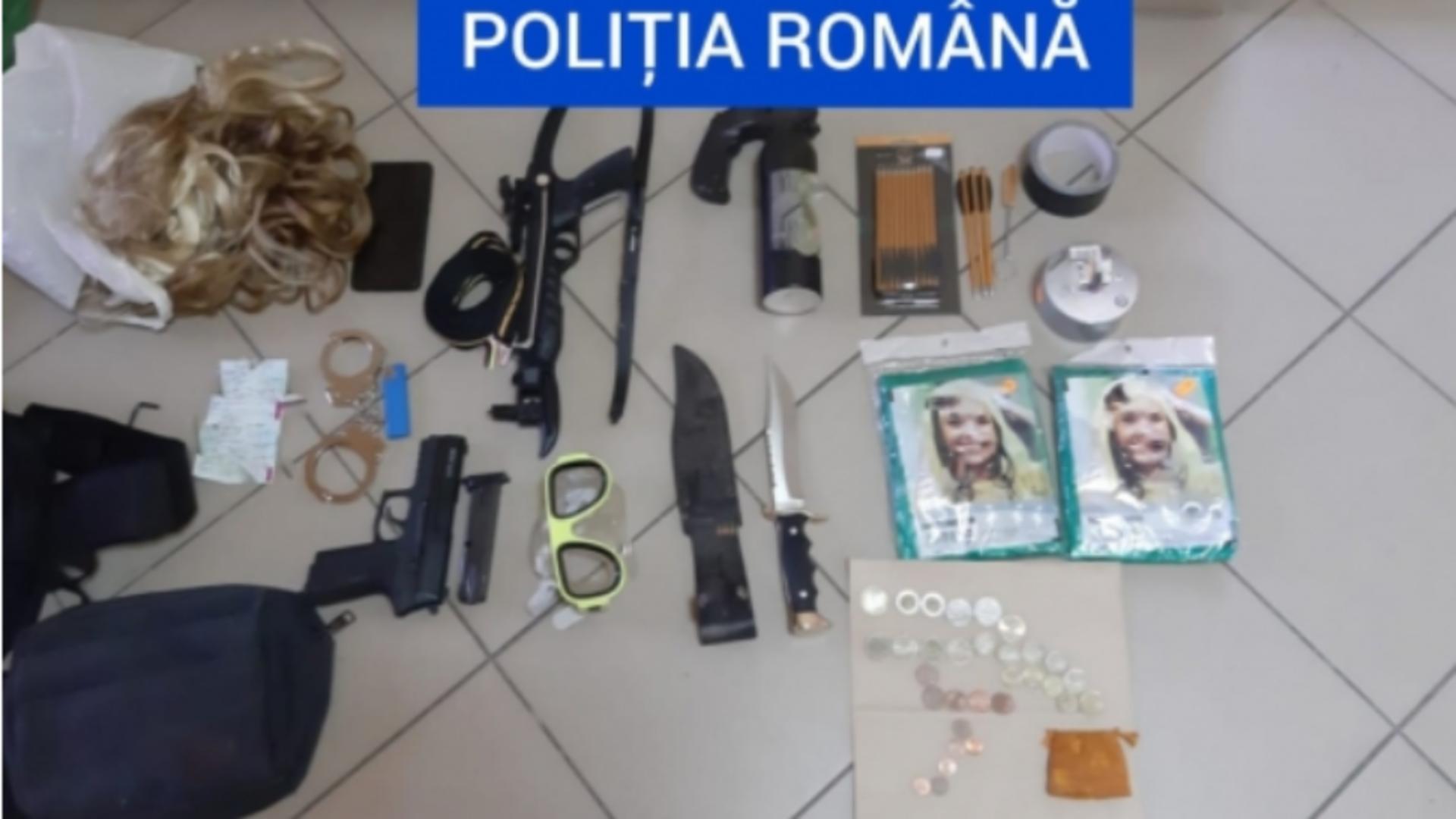 Arsenal, descoperit asupra unui român întors din Franța