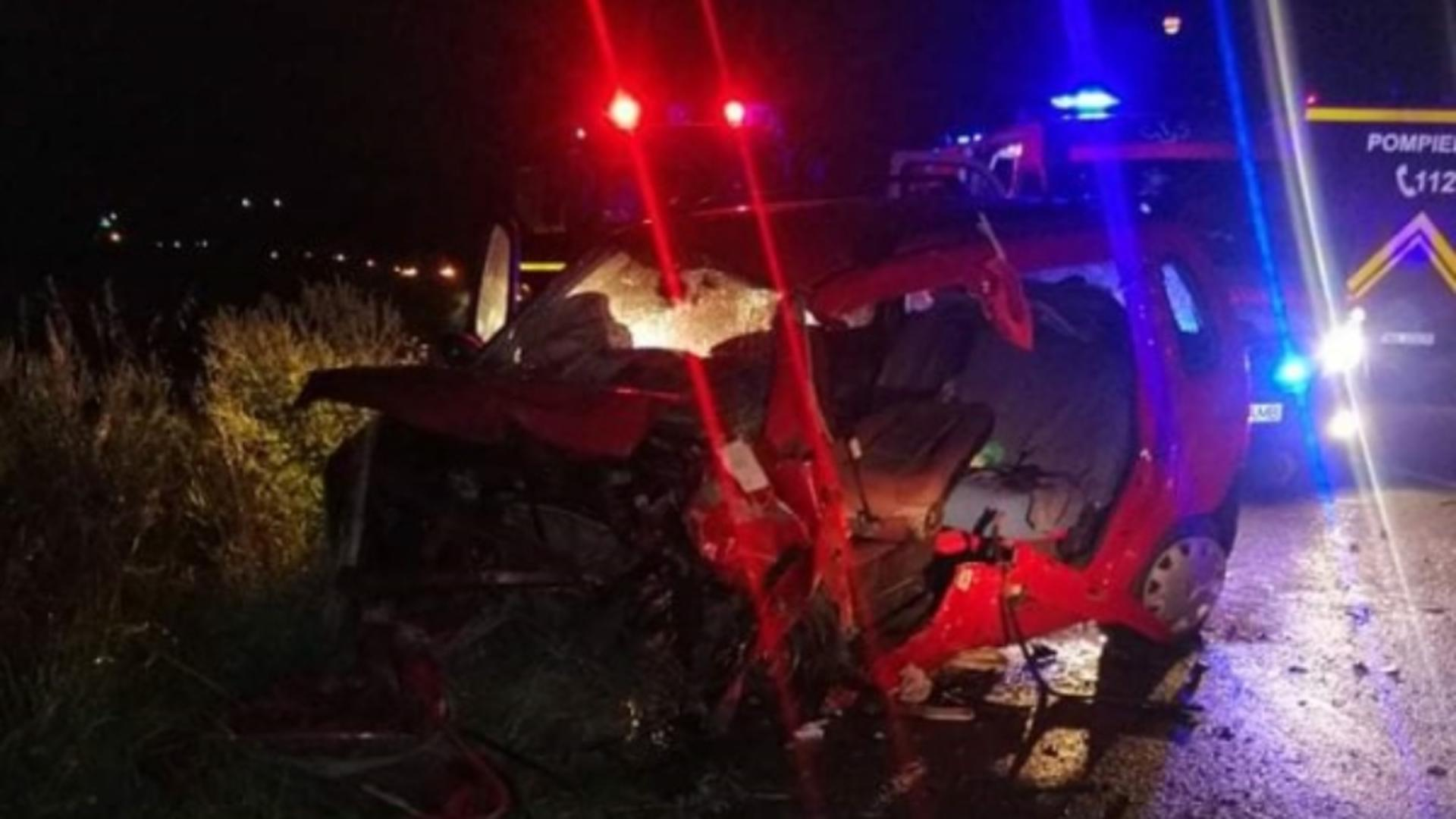 Accident grav, în Neamț