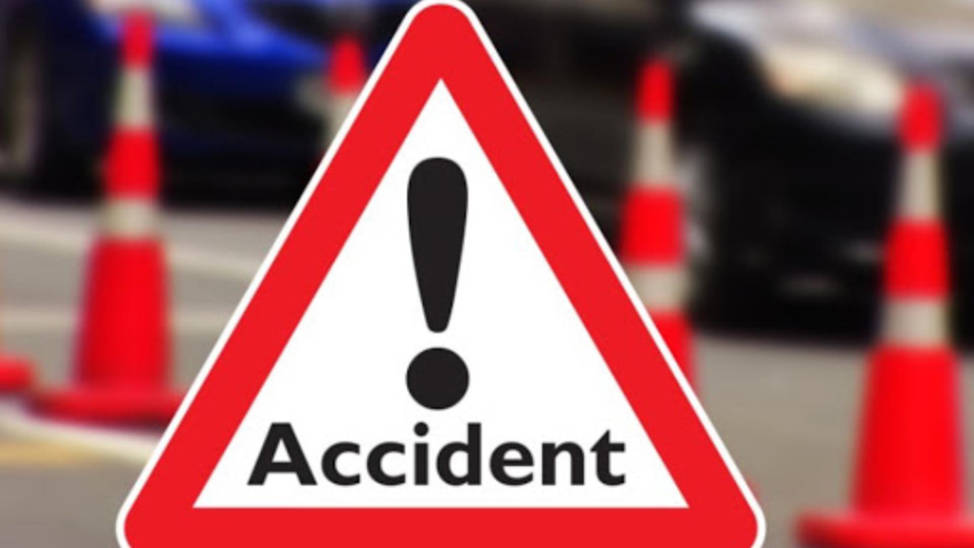 Accident grav, circulație blocată